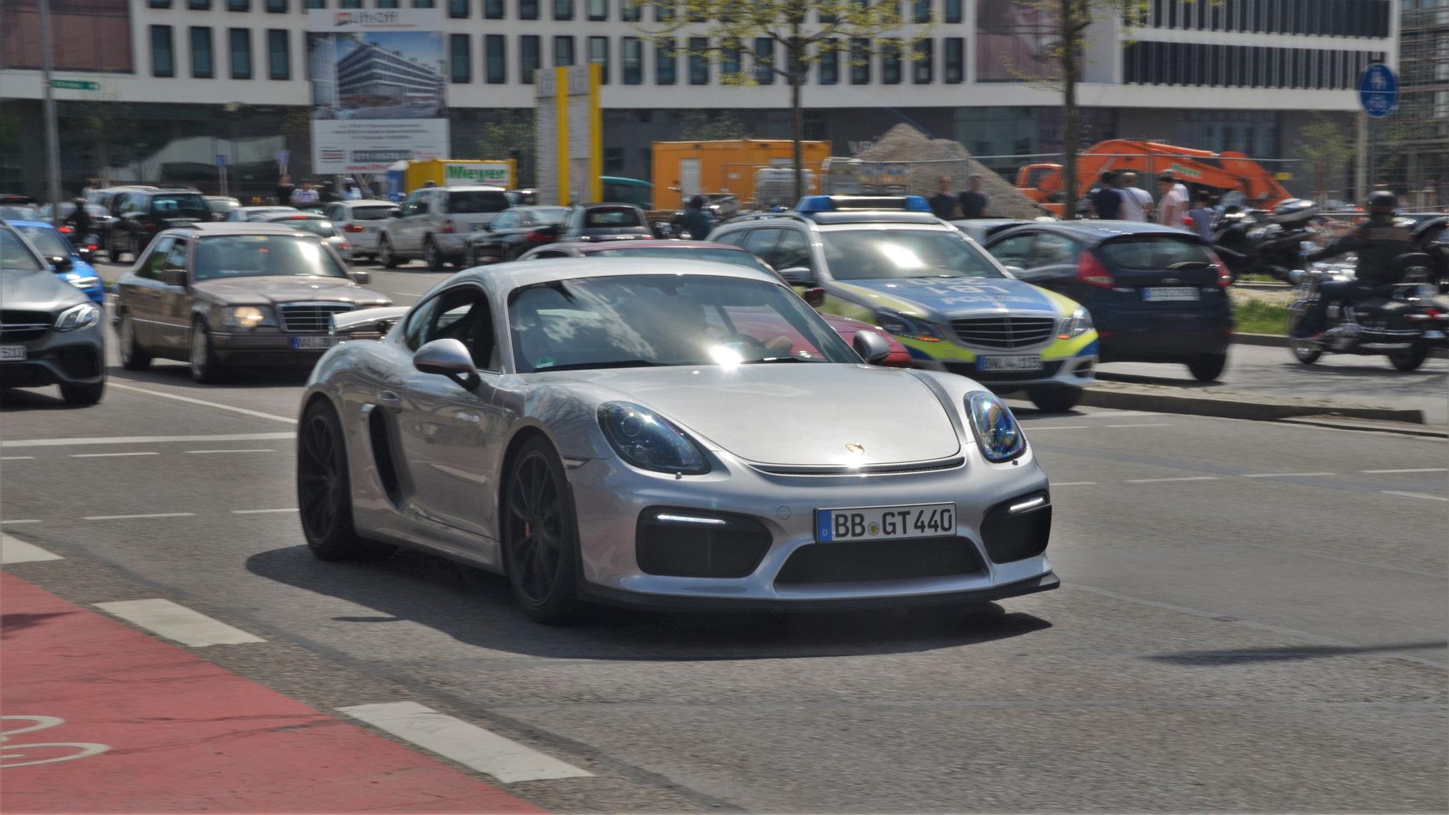 Porsche Cayman GT4 - BB-GT-440