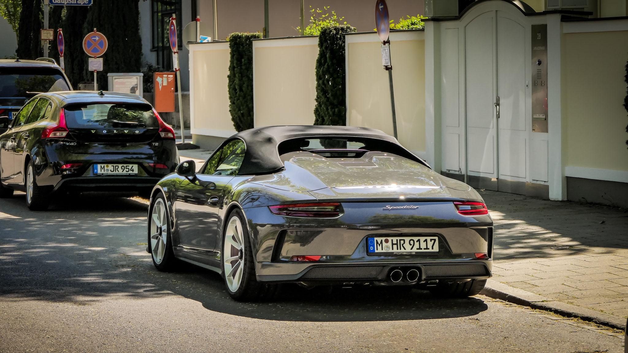 Porsche 991 Speedster - M-HR-9117