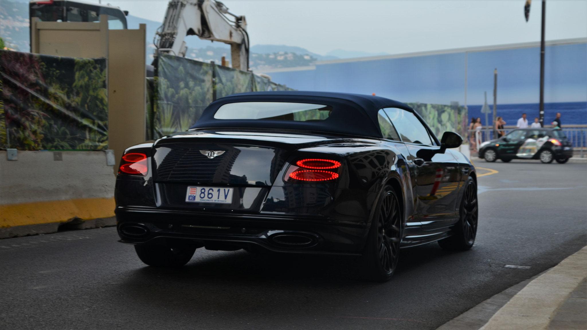 Bentley Continental GTC Supersports - 861V (MC)