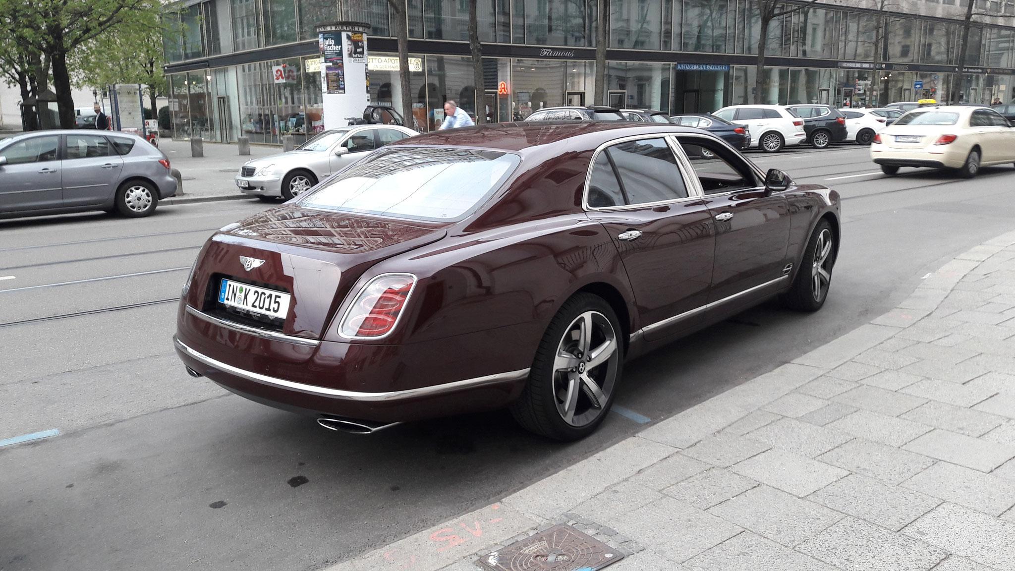 Bentley Mulsanne - IN-K-2015
