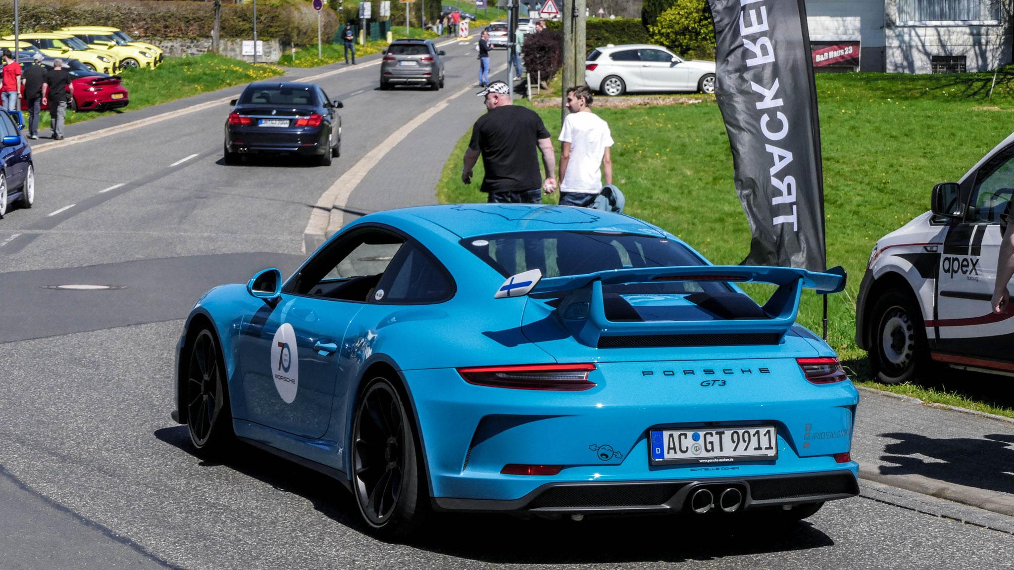 Porsche 991 GT3 - AC-GT-9911