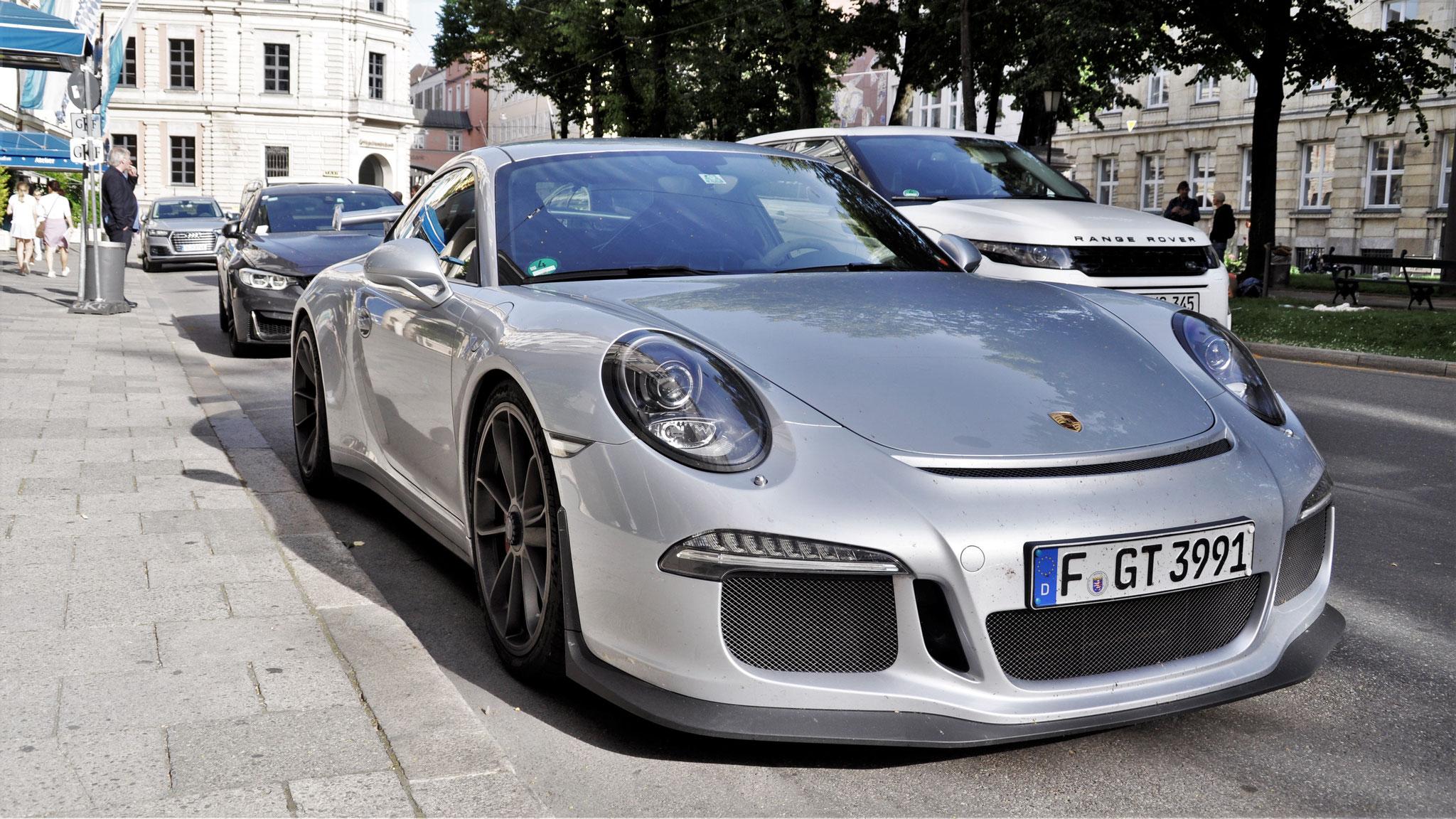 Porsche 991 GT3 - F-GT-3991