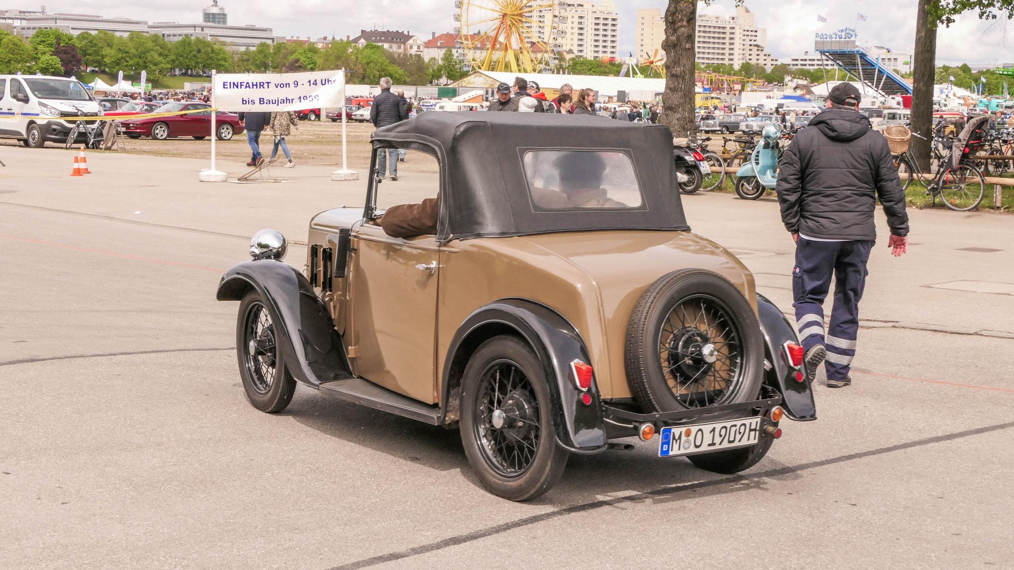 Austin Seven Opal Tourer - M-O-1909H