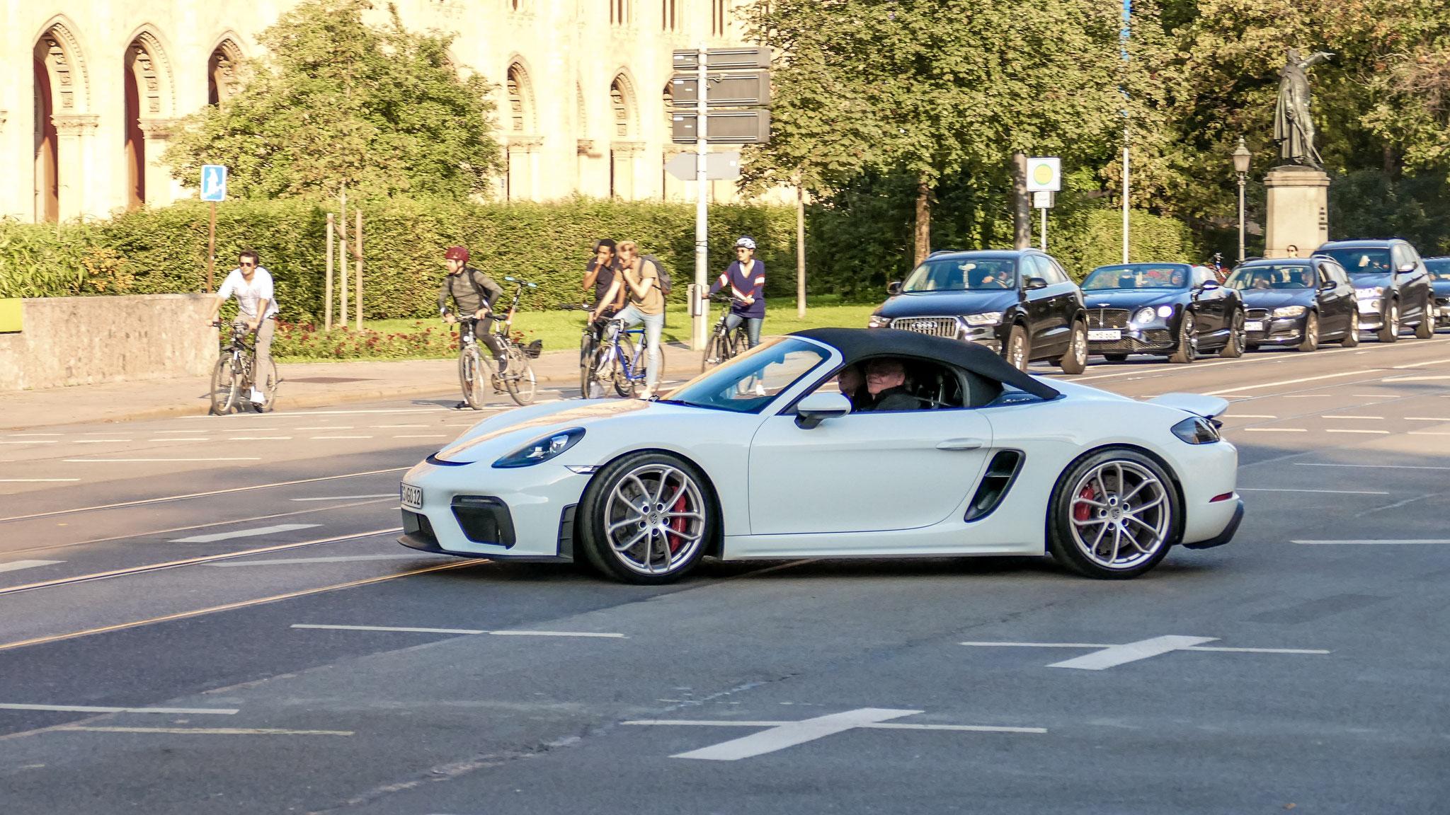 Porsche 718 Spyder - RS-GO-12