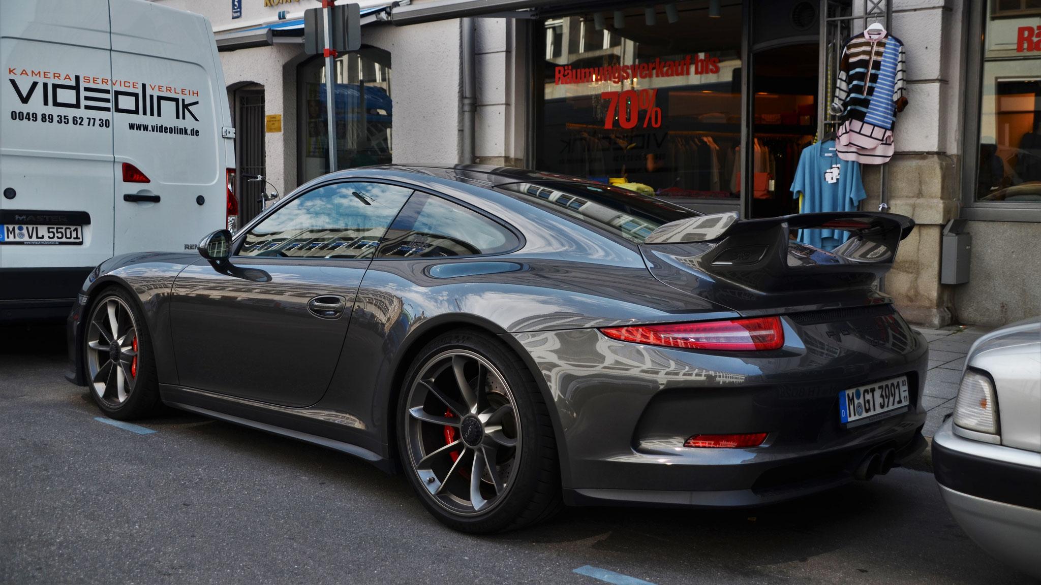 Porsche 991 GT3 - M-GT-3991