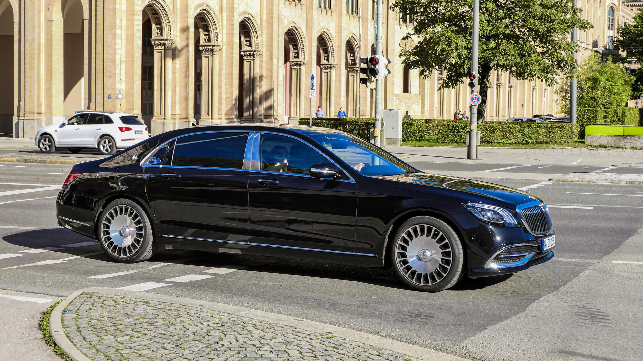 Mercedes Maybach S500 - N-DV-1551