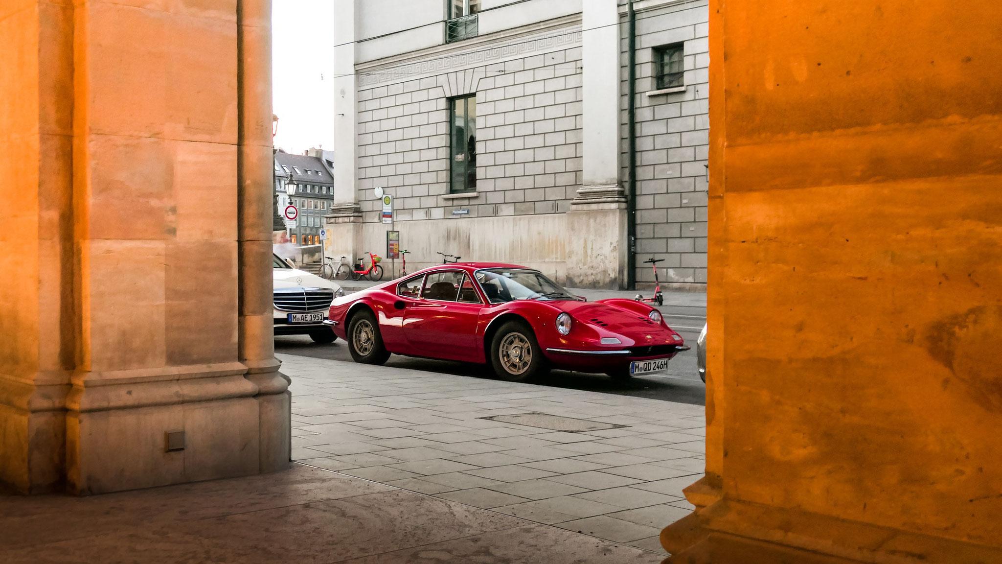 Ferrari Dino 246 - M-QD-246H