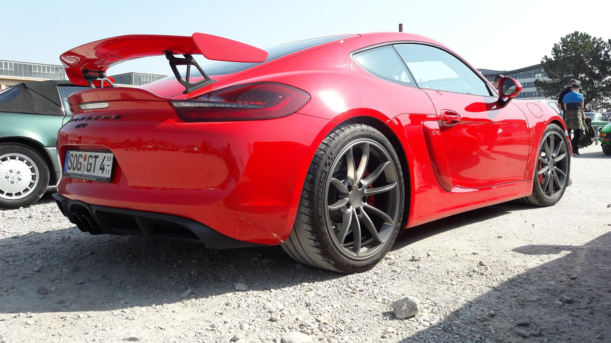 Porsche Cayman GT4 - SOG-GT-4