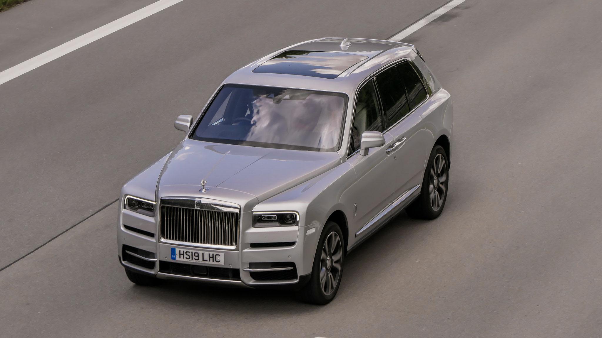 Rolls Royce Cullinan - HS19-LHC (GB)