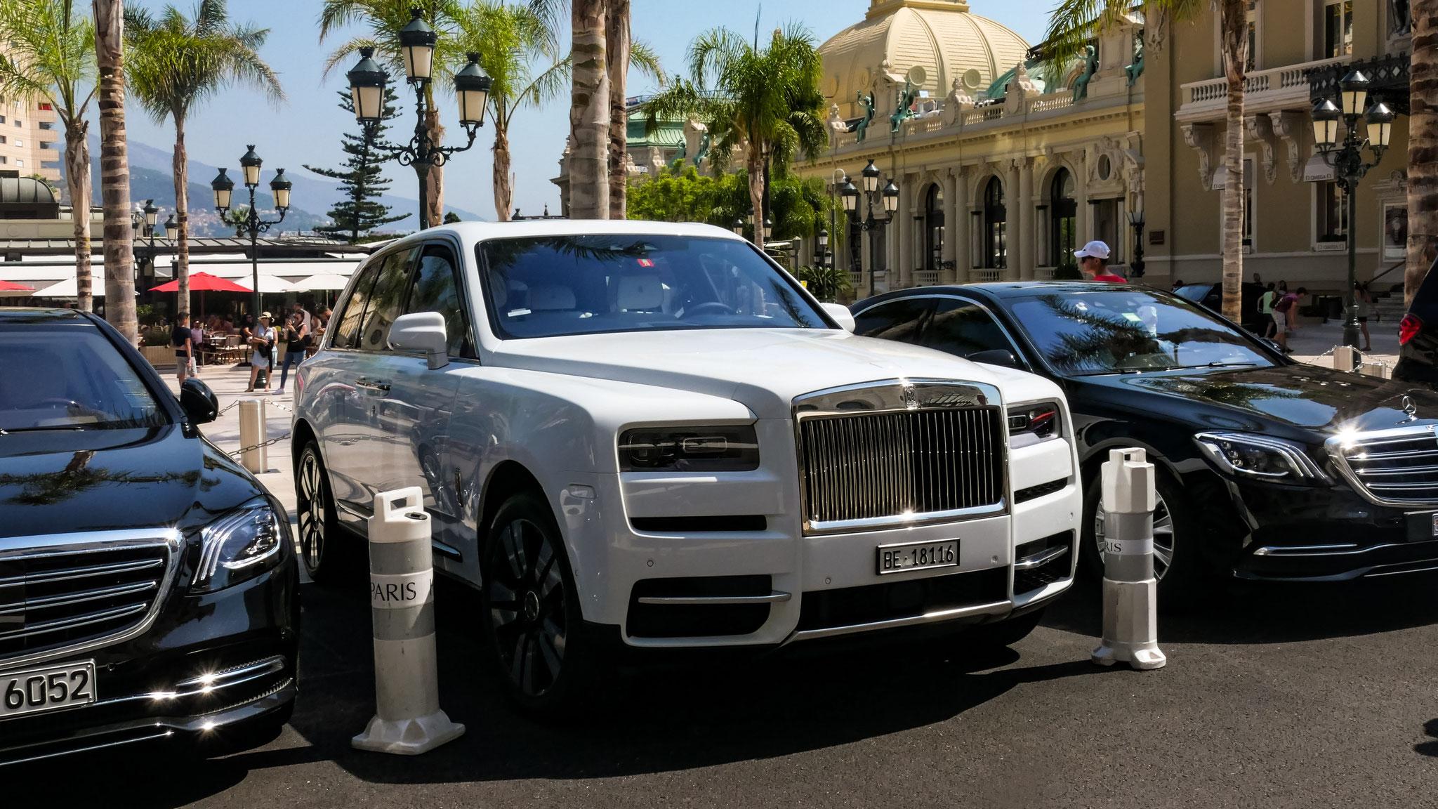 Rolls Royce Cullinan - BE-18116 (CH)