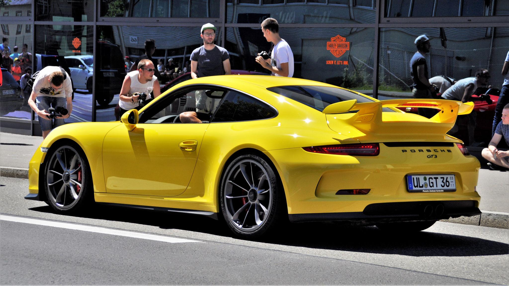 Porsche 991 GT3 - UL-GT-36