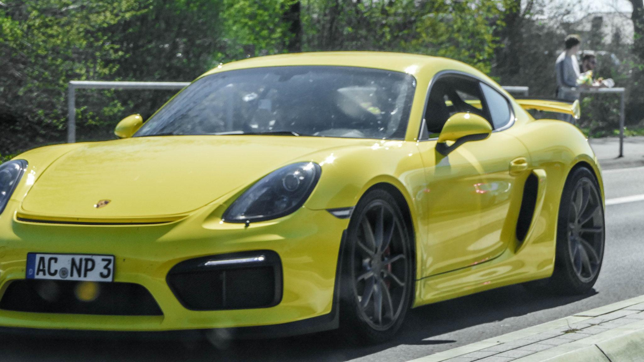 Porsche Cayman GT4 - AC-NP-3
