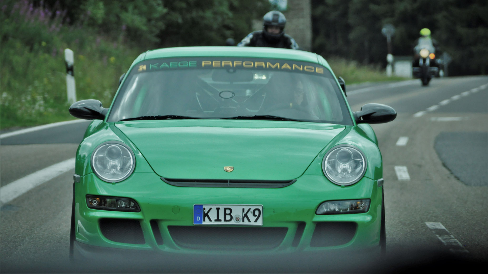 Porsche 997 GT3 RS - KIB-K-9