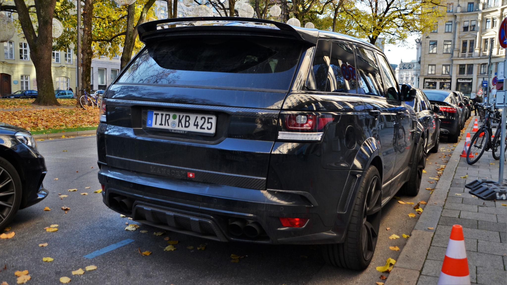 Mansory Range Rover Sport - TIR-KB-425