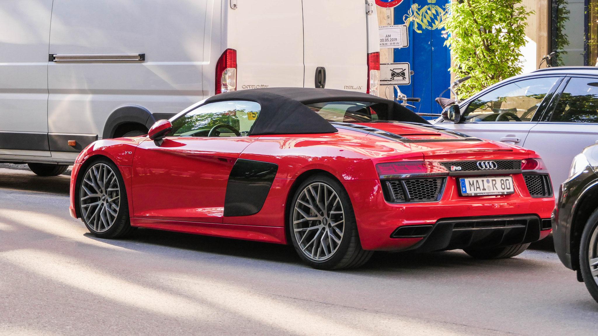 Audi R8 V10 Spyder - MAI-R-80