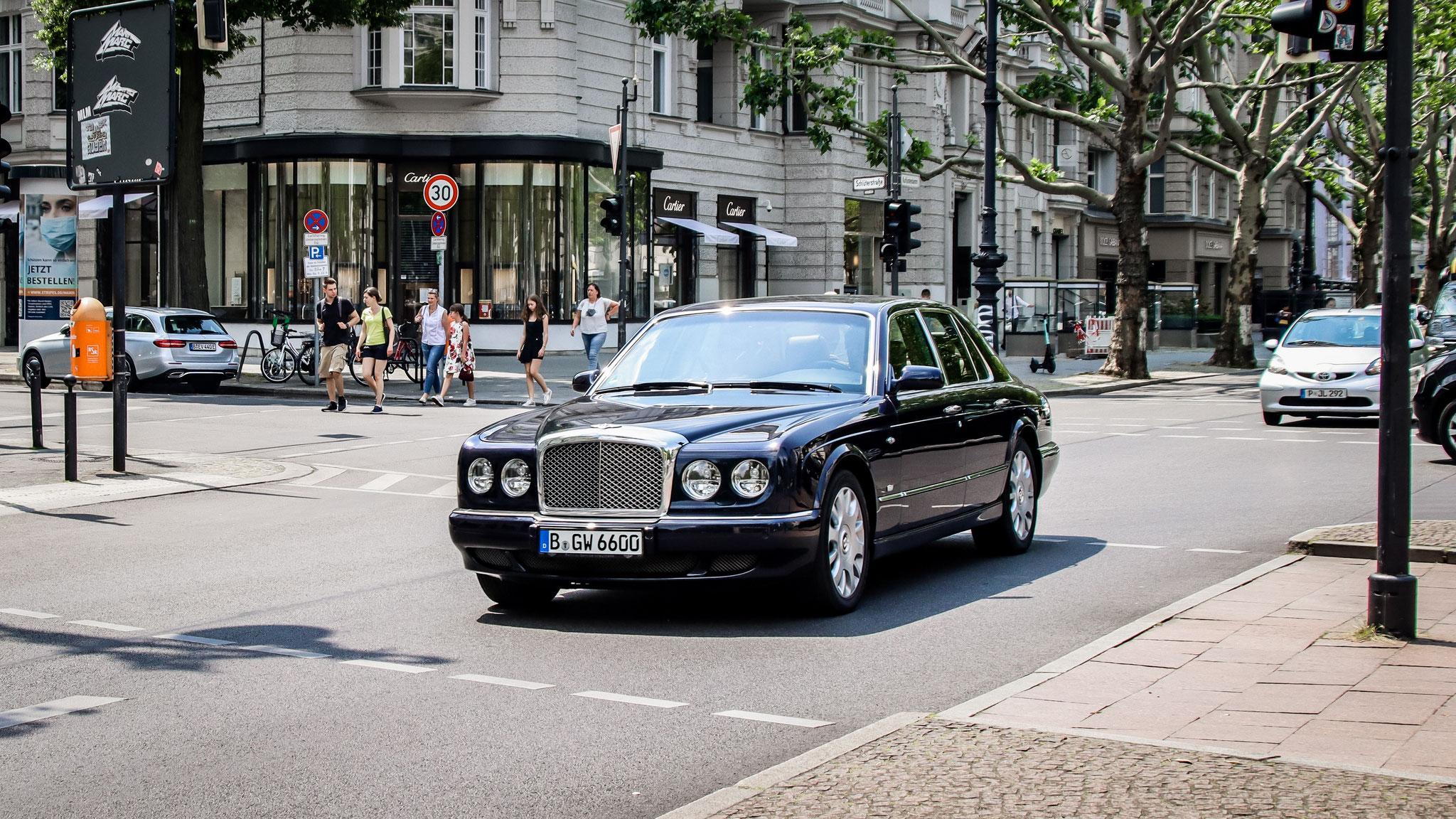 Bentley Arnage - B-GW-6600