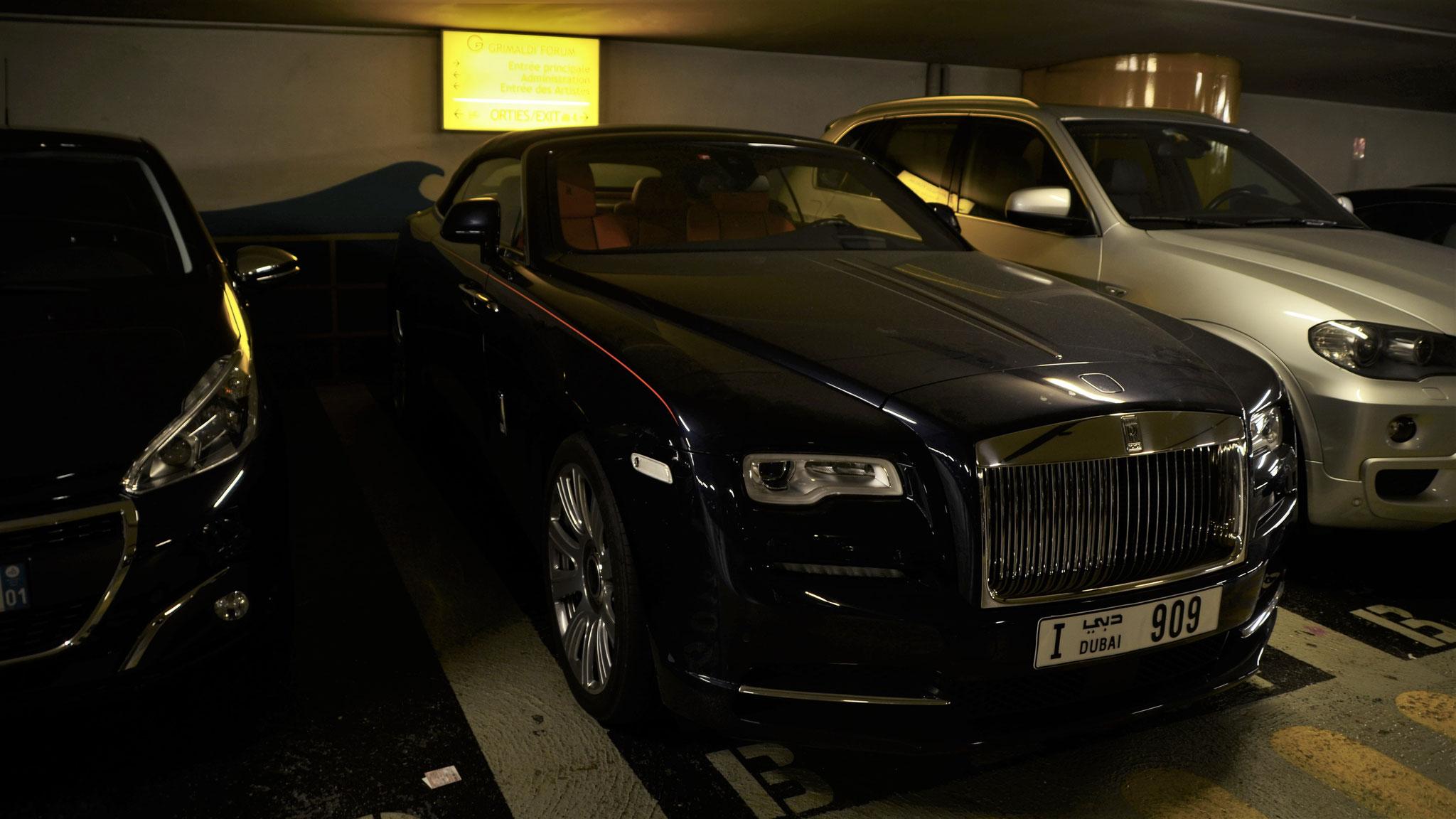 Rolls Royce Dawn - I-909 (Dubai)