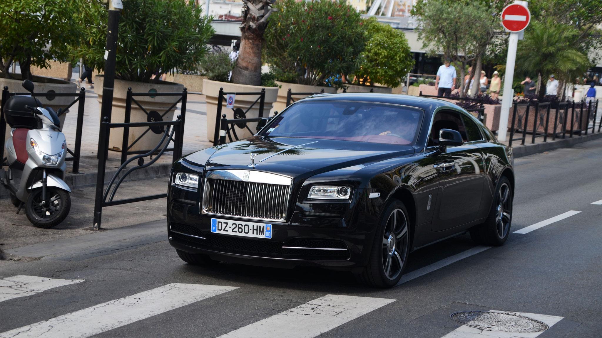 Rolls Royce Wraith - DZ-260-HM-06 (FRA)