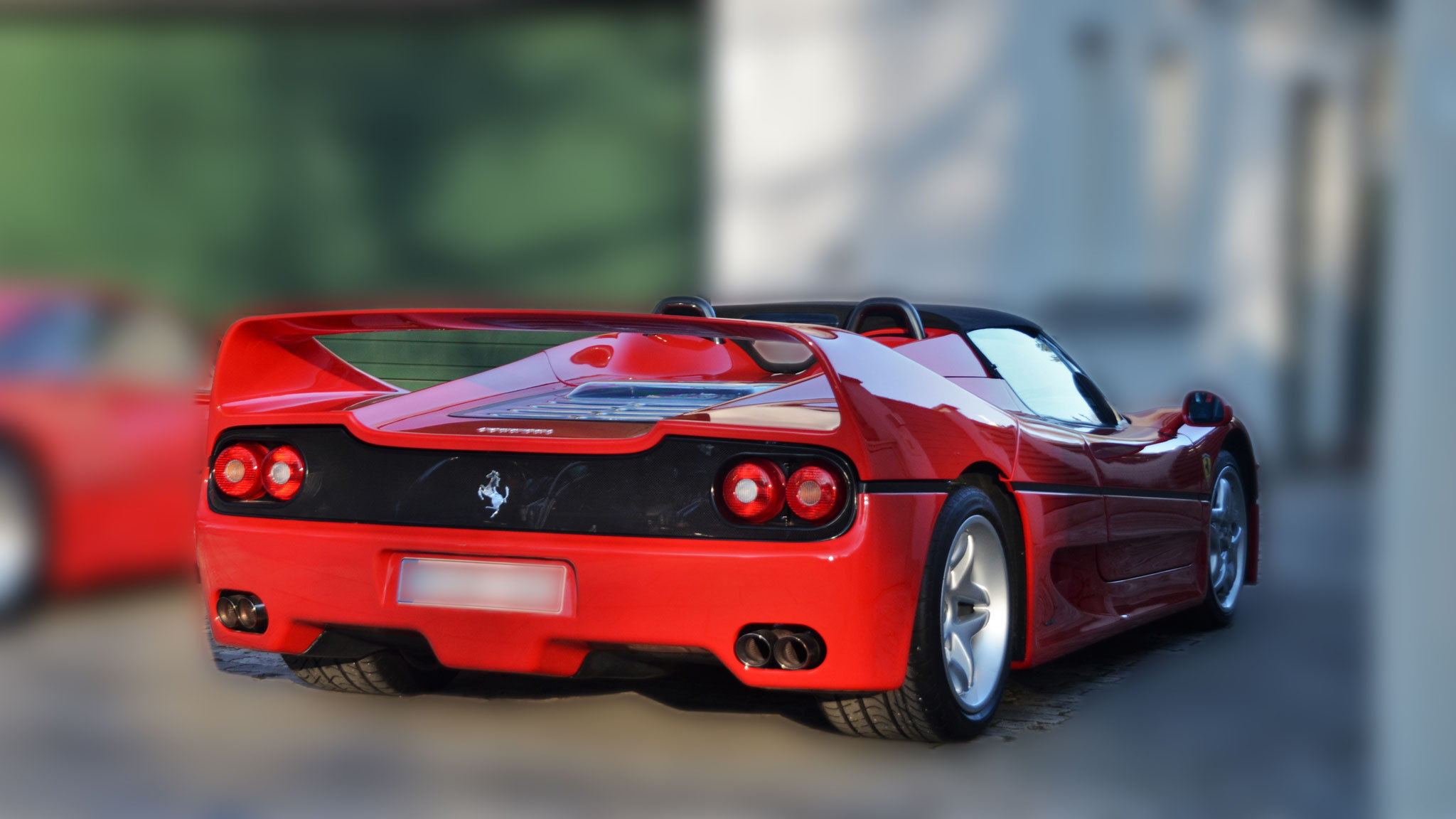 Ferrari F50 - M-XX-XXX