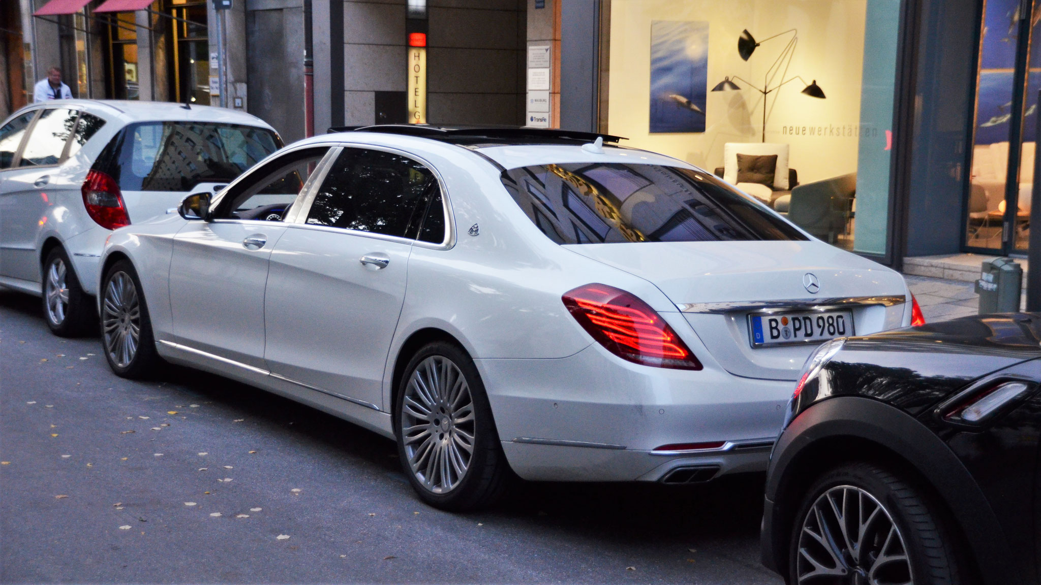 Mercedes Maybach S500 - B-PD-980