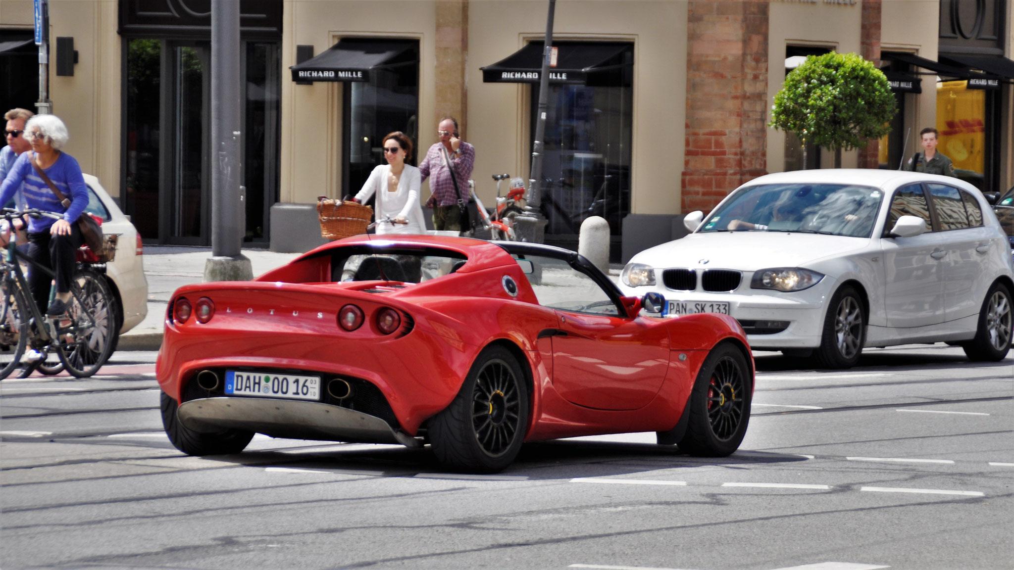 Lotus Elise S2 - DAH-OO-16