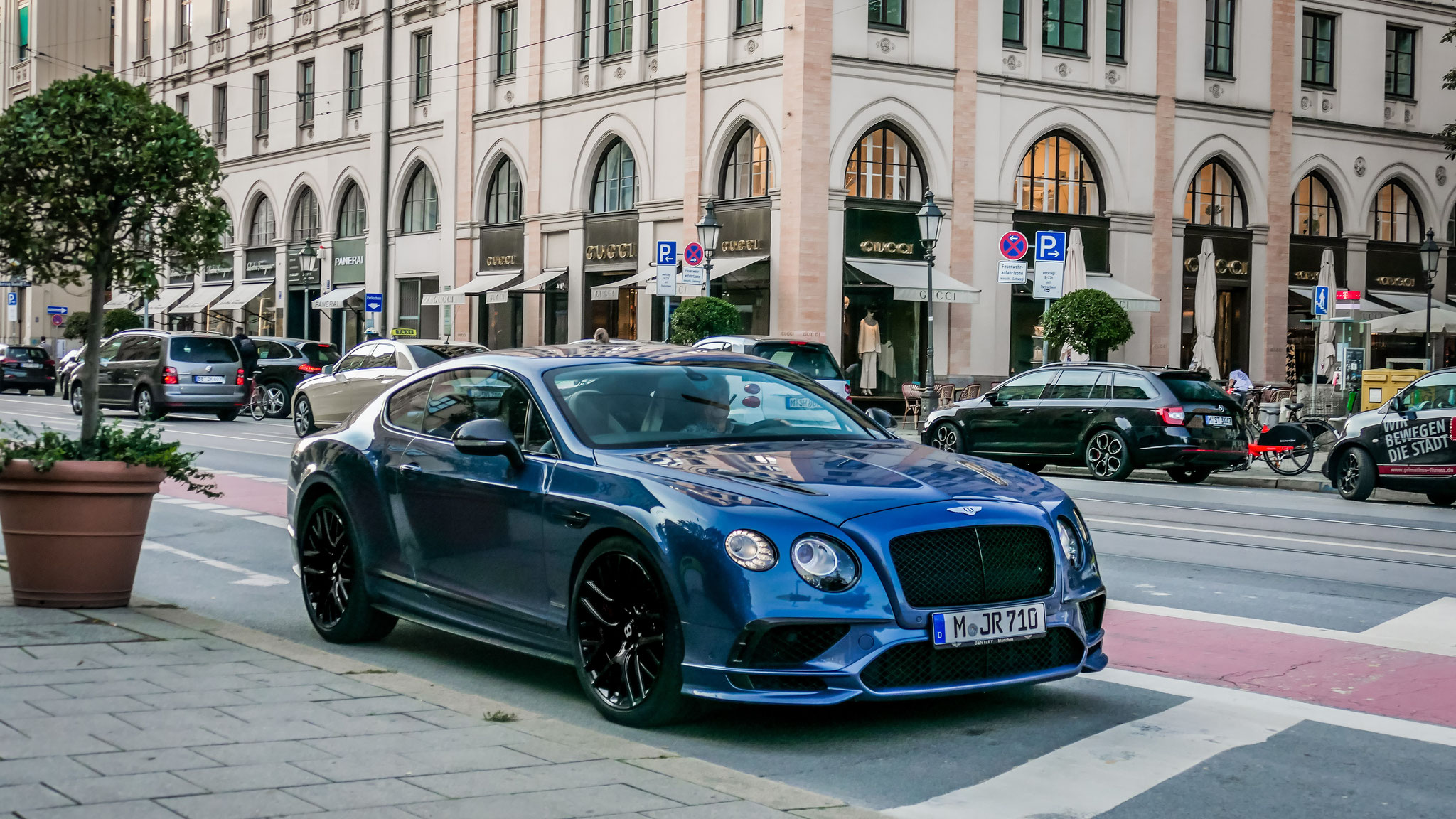 Bentley Continental GT Supersports - M-JR-710