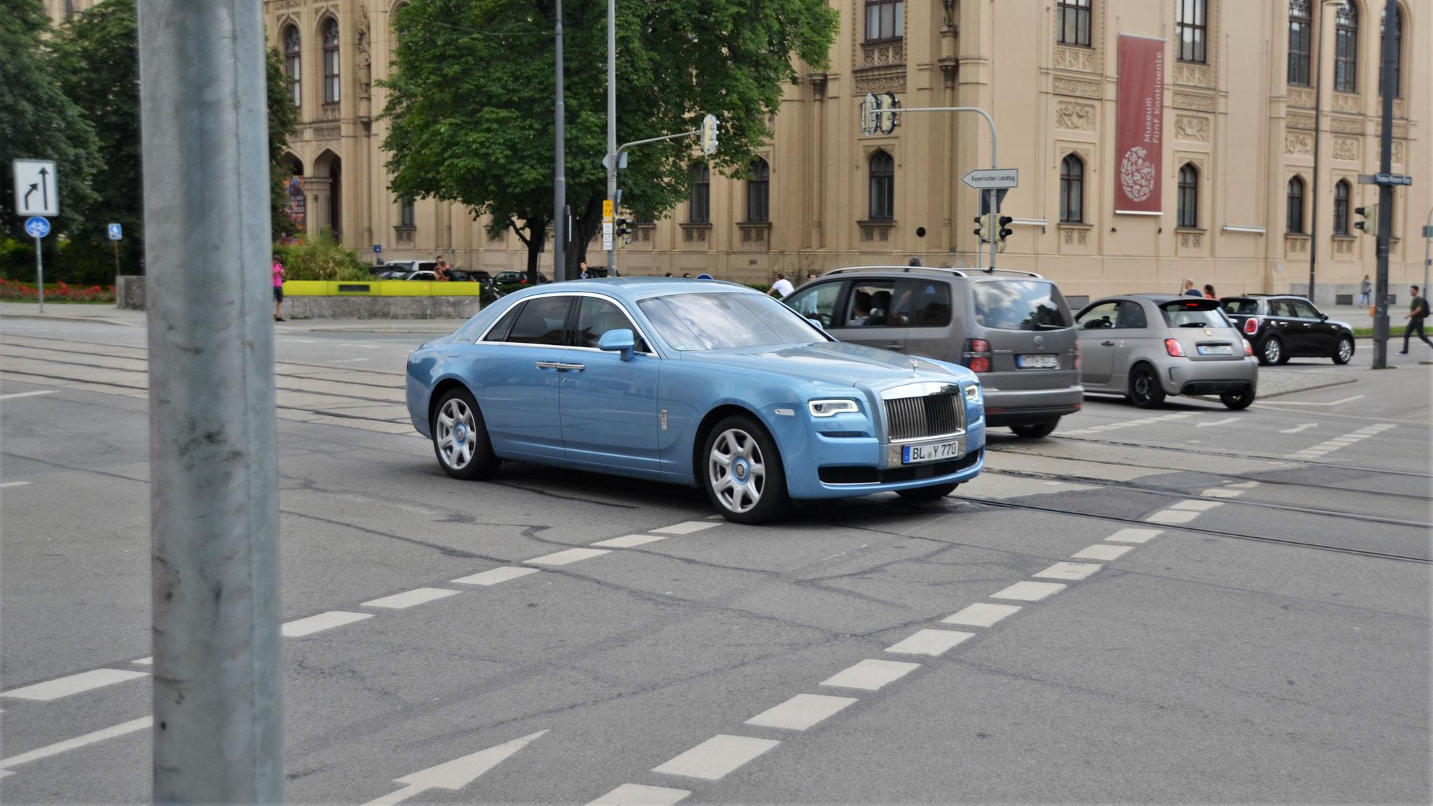 Rolls Royce Ghost Series II - BL-Y-770