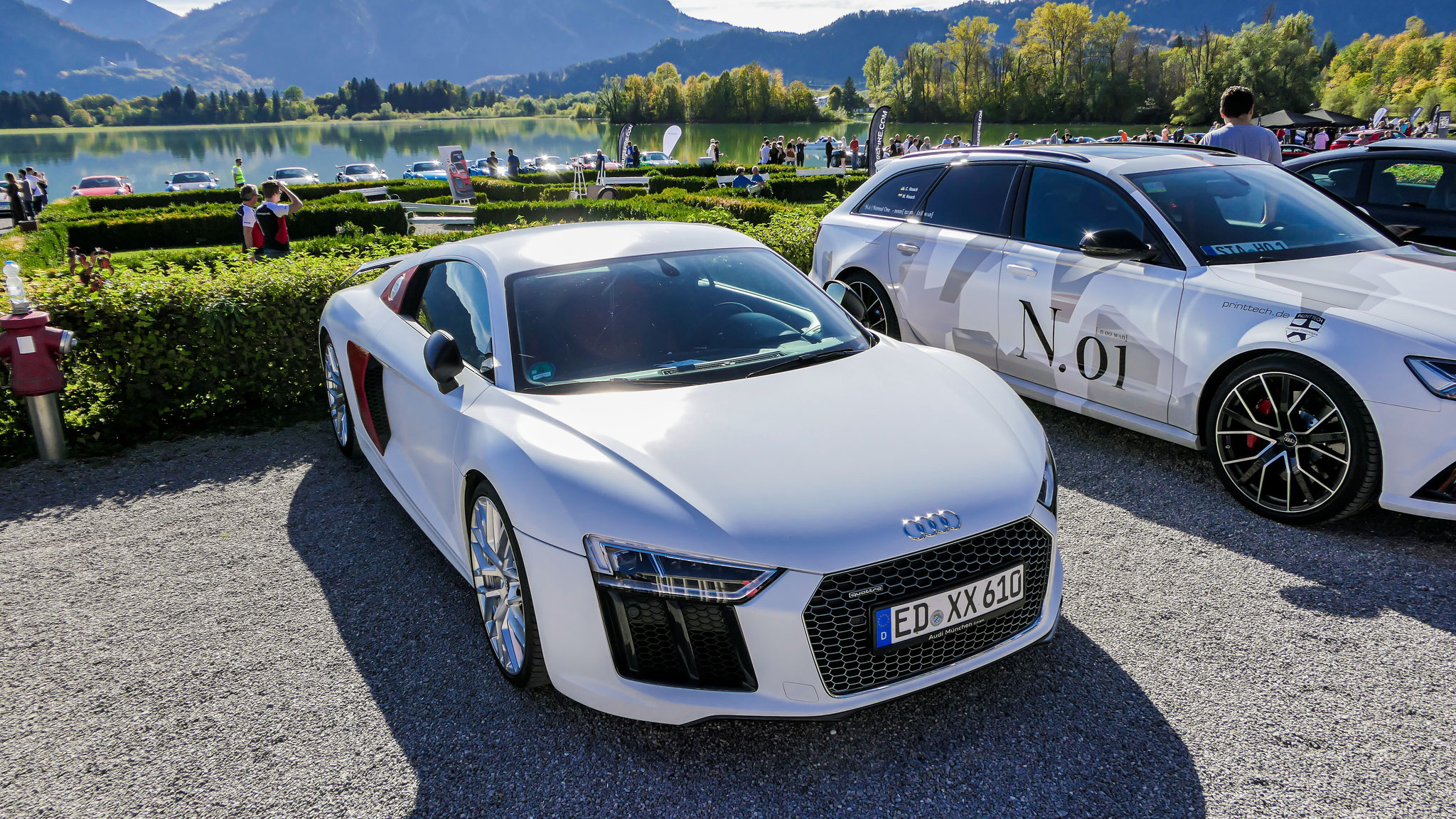 Audi R8 V10 - ED-XX-610