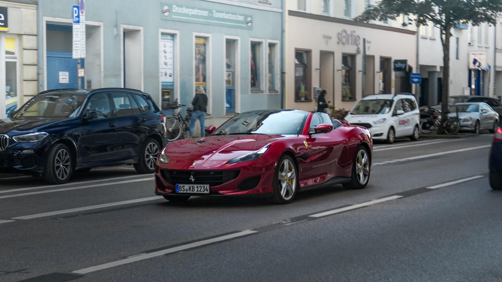 Ferrari Portofino - BS-KB-1234