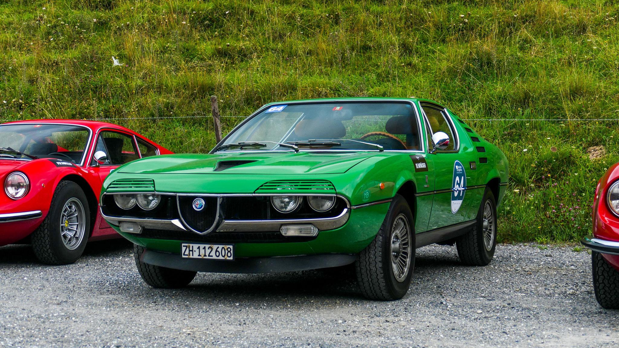 Alfa Romeo Montreal Bertone - ZH-112608 (CH)