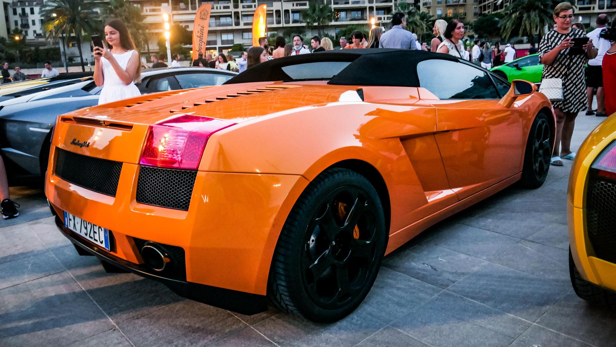Lamborghini Gallardo Spyder - FX-792-EC (ITA)