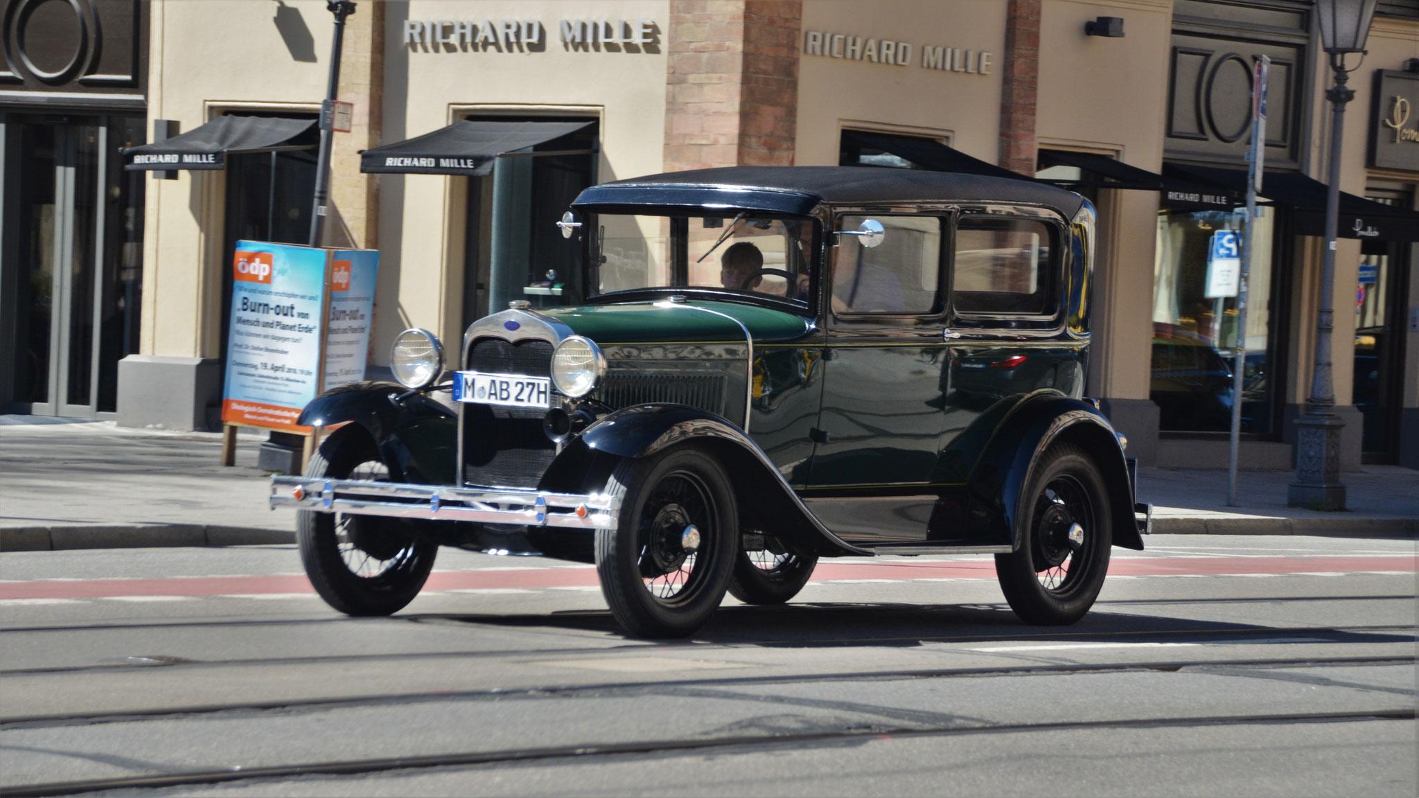 Ford Model A - M-AB-27H