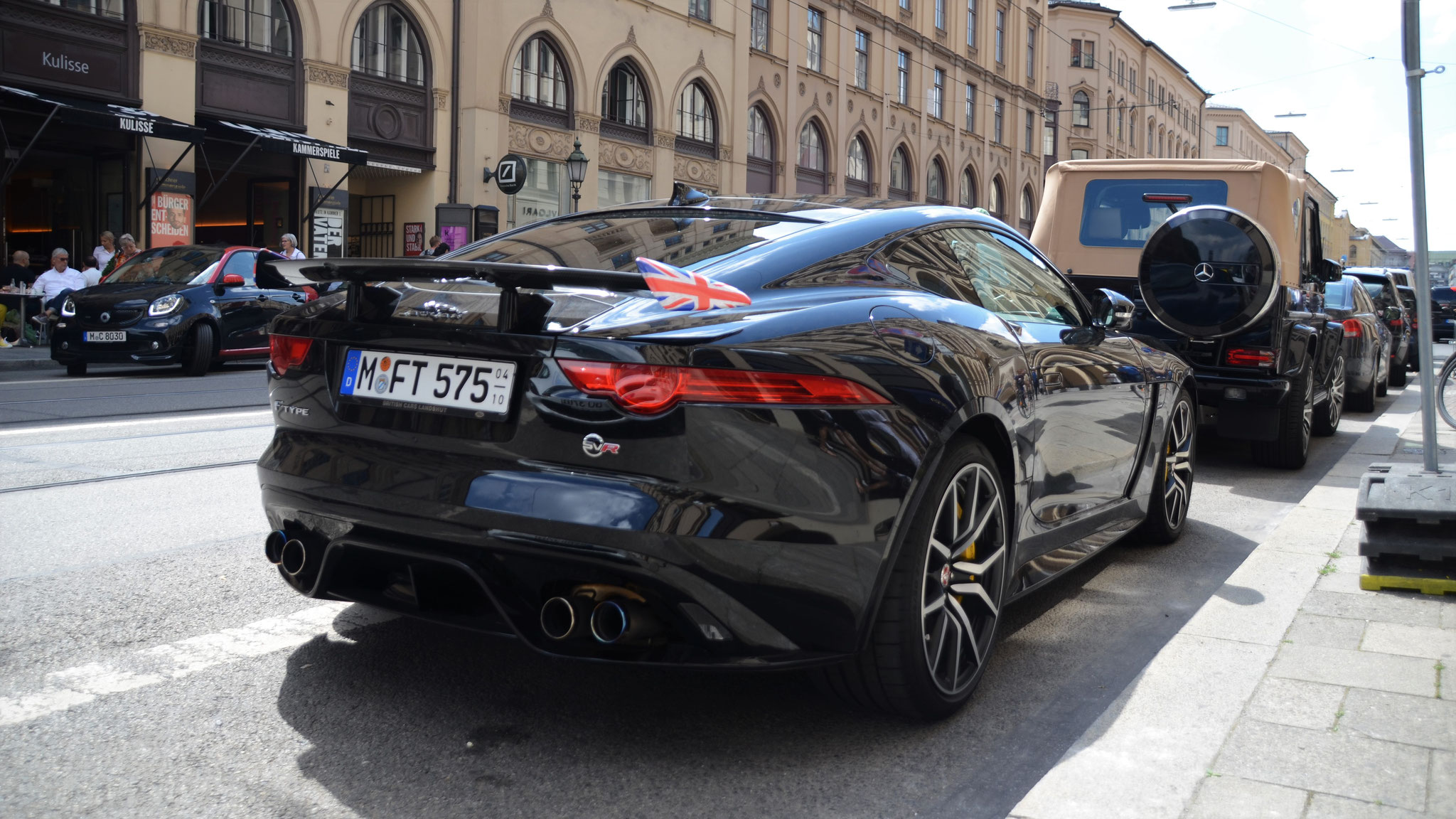 Jaguar F-Type SVR - M-FT-575