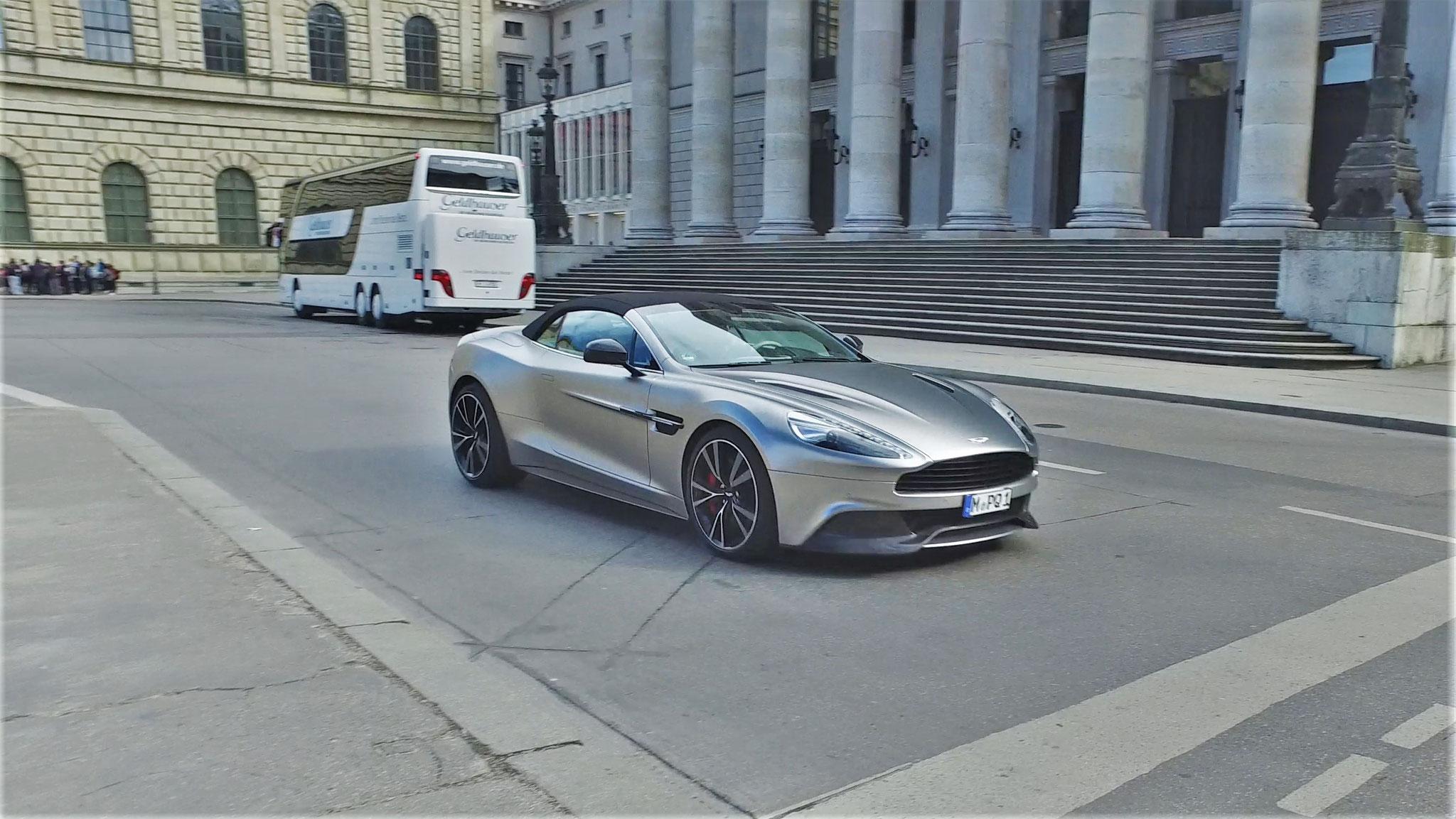 Aston Martin Vanquish Volante - M-PQ-1