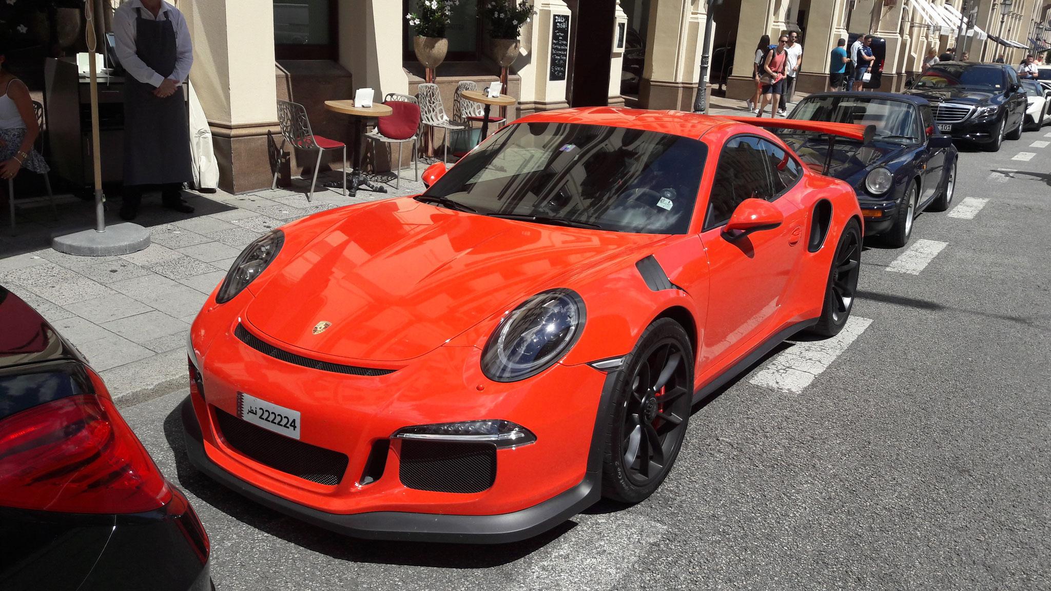 Porsche 911 GT3 RS - 222224 (QAT)