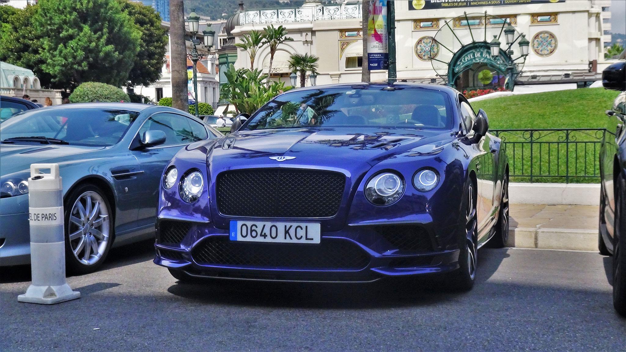 Bentley Continental GTC Supersports - 0640-KCL (ESP)