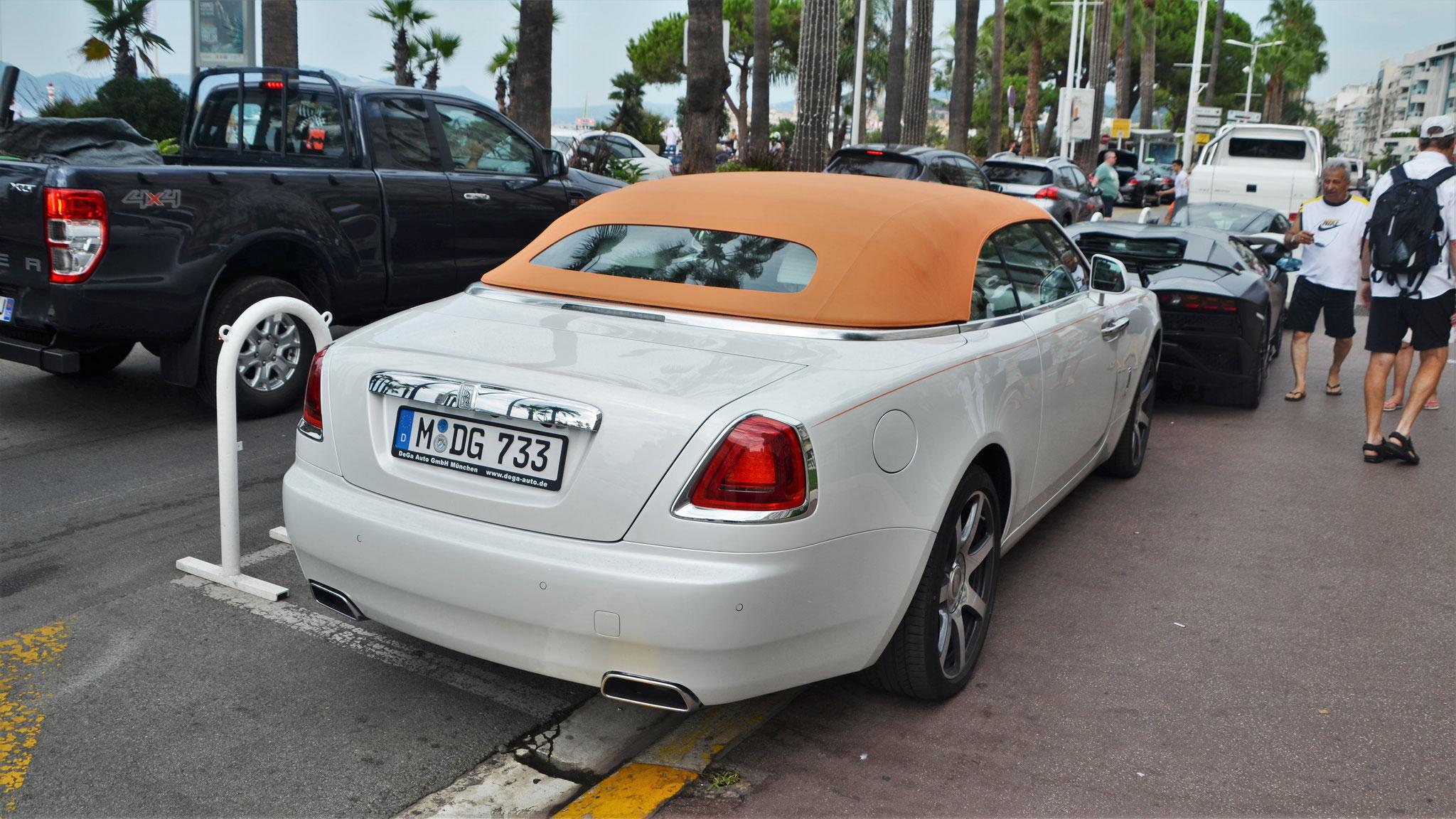 Rolls Royce Dawn - M-DG-733