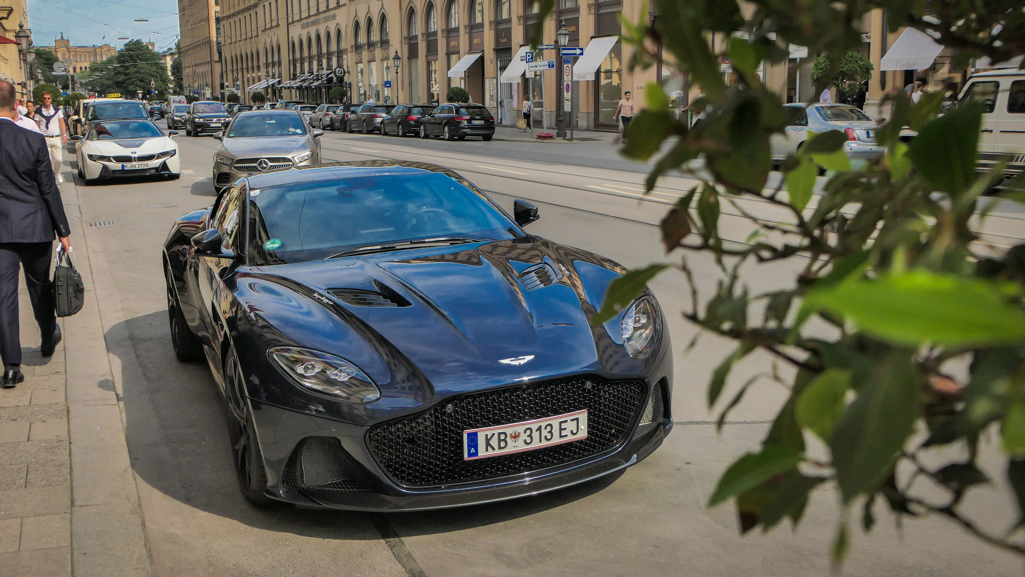 Aston Martin DBS Superleggera - KB-313-EJ (AUT)