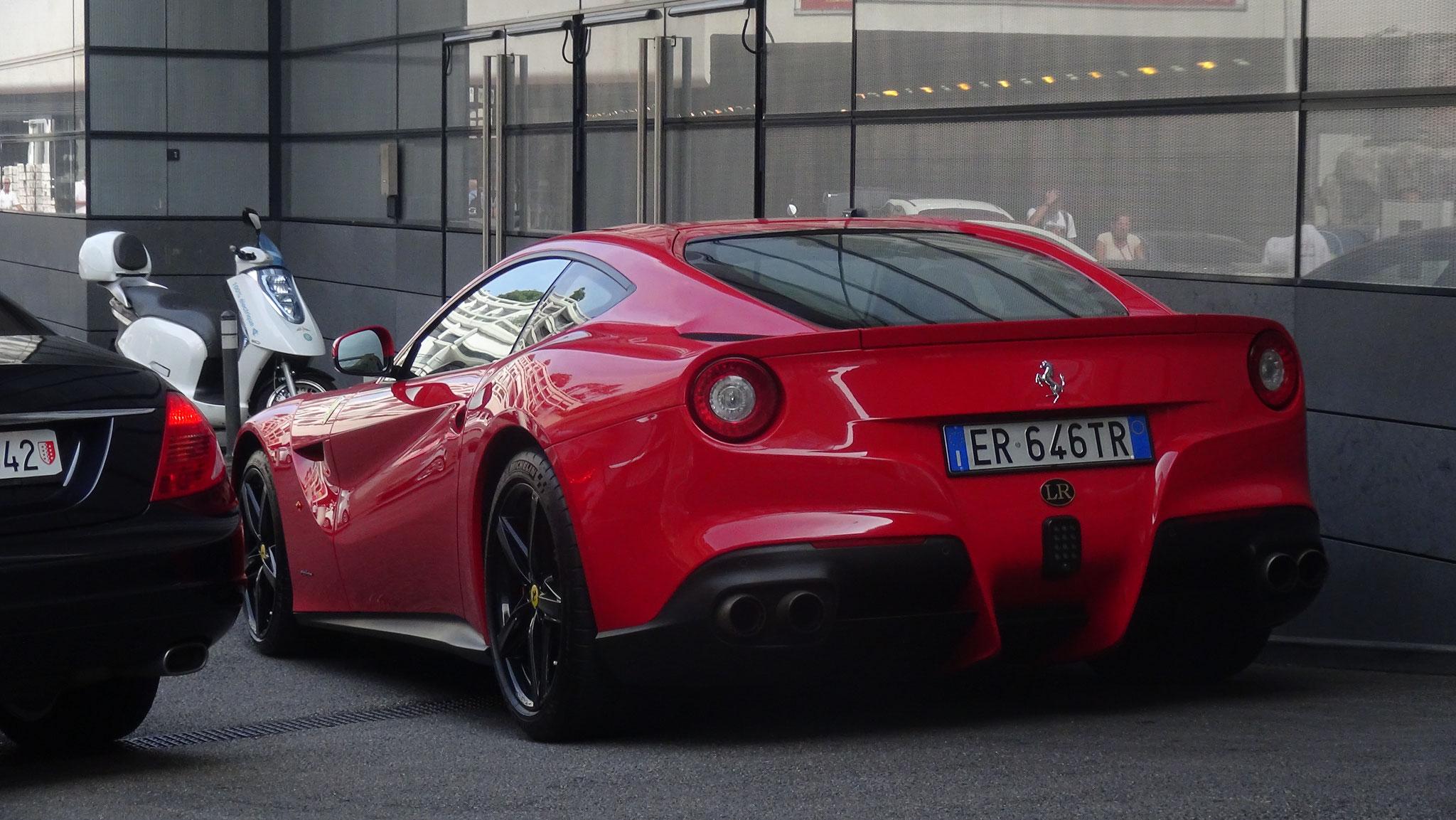 Ferrari F12 Berlinetta - ER-646-TR (ITA)