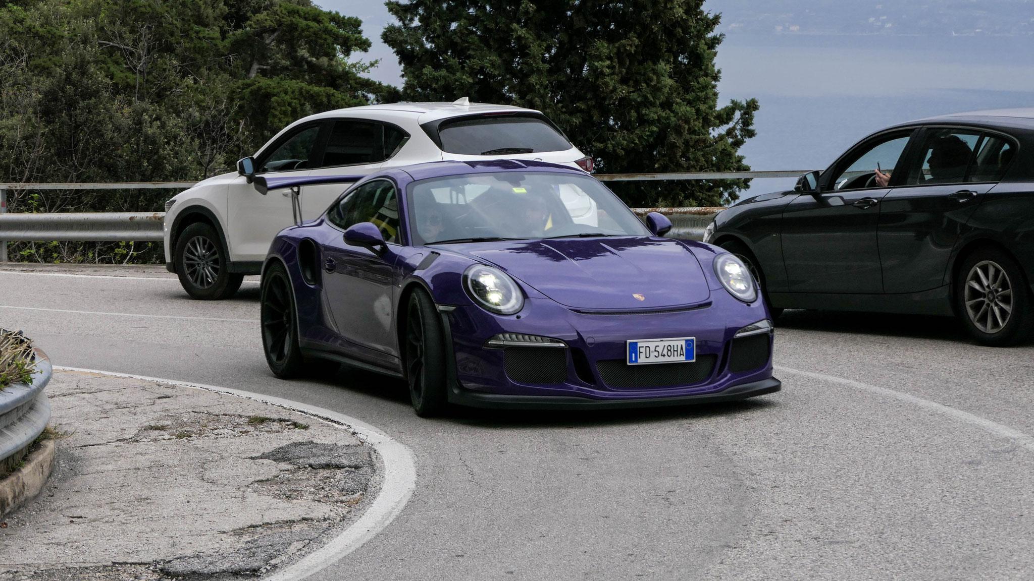 Porsche 911 GT3 RS - FD-548-HA (ITA)