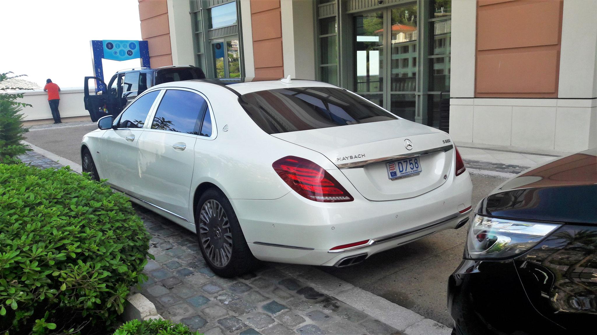 Mercedes Maybach S600 - D758 (MC)