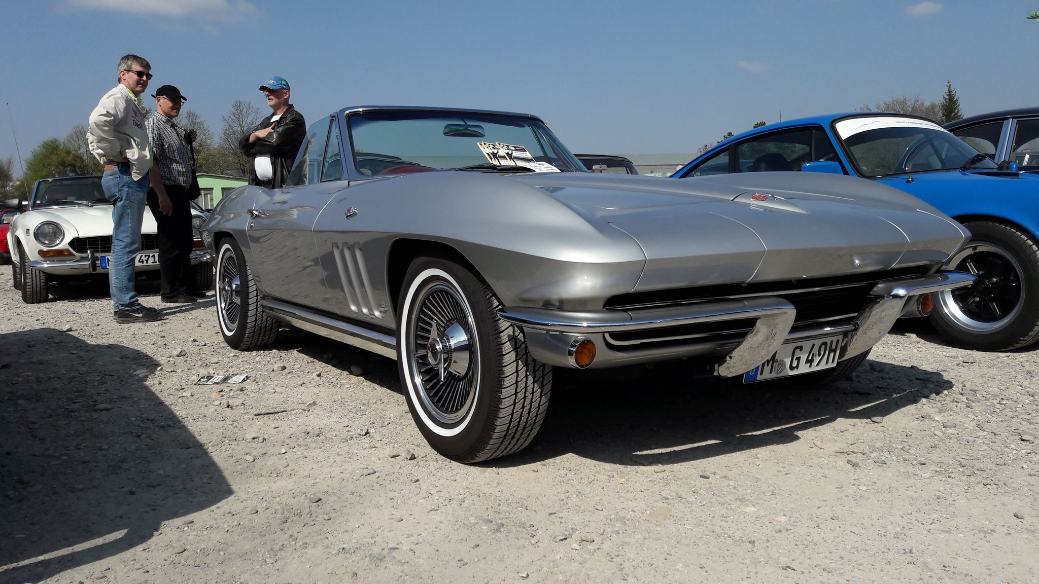 Chevrolet Corvette C2 - M-G-49H