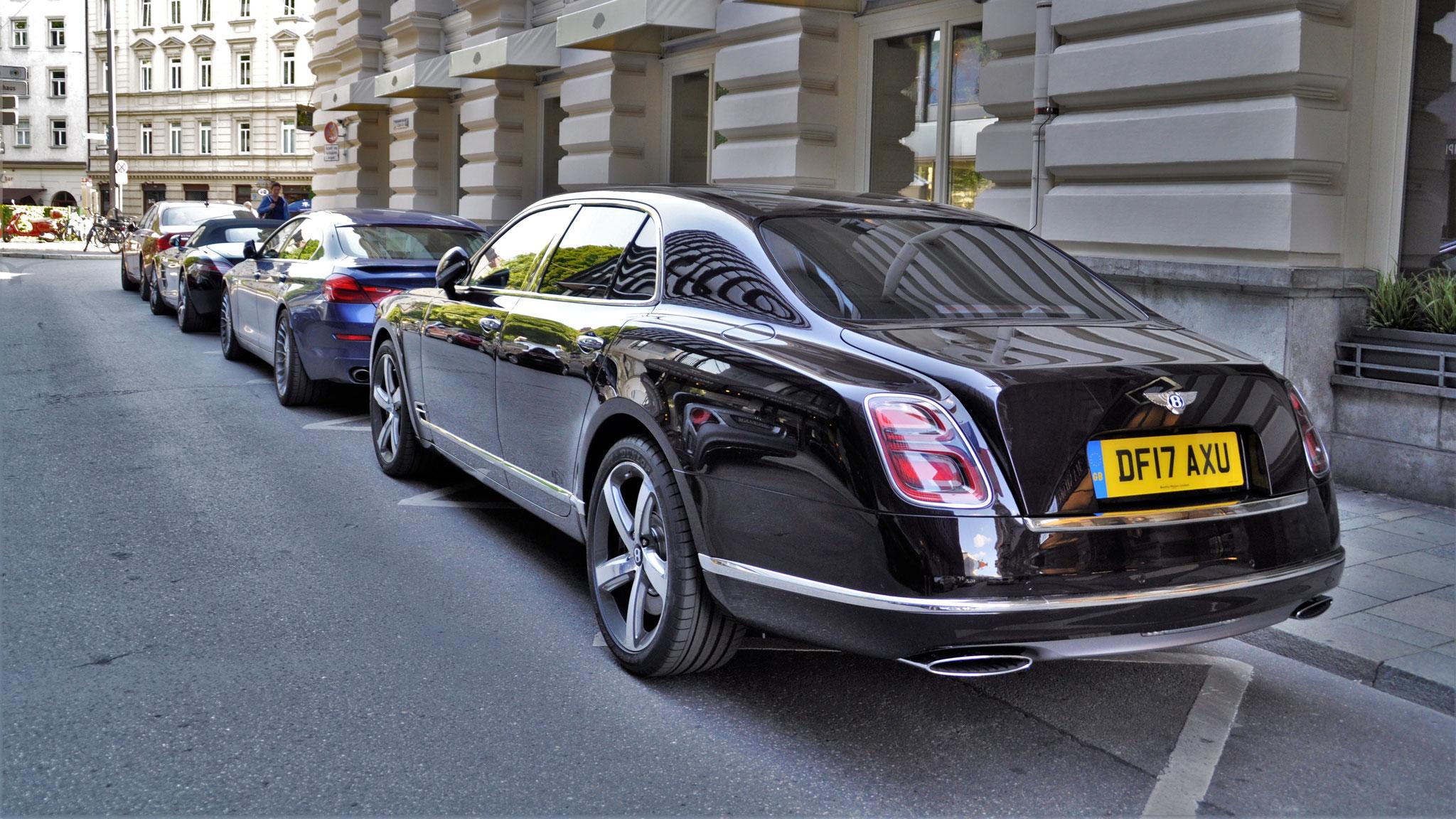 Bentley Mulsanne - DF17-AXU (GB)