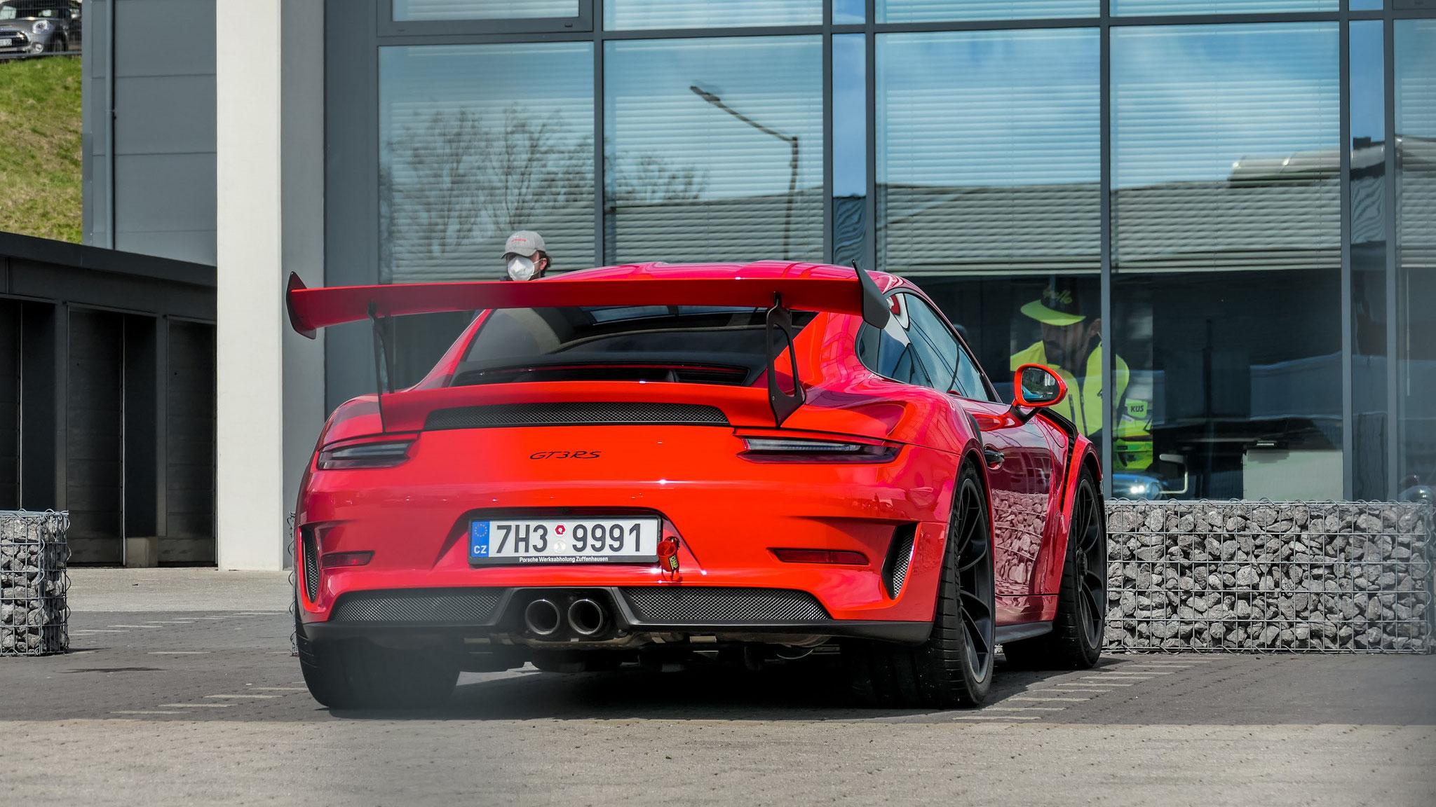 Porsche 911 991.2 GT3 RS - 7H3-9991 (CZ)