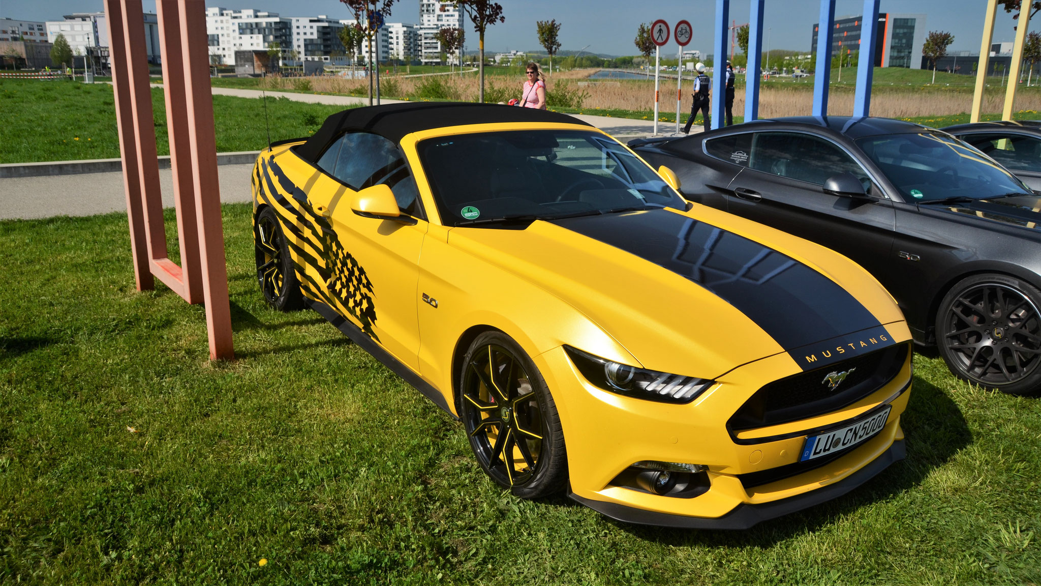 Ford Mustang GT Cabrio - LU-CN-5000