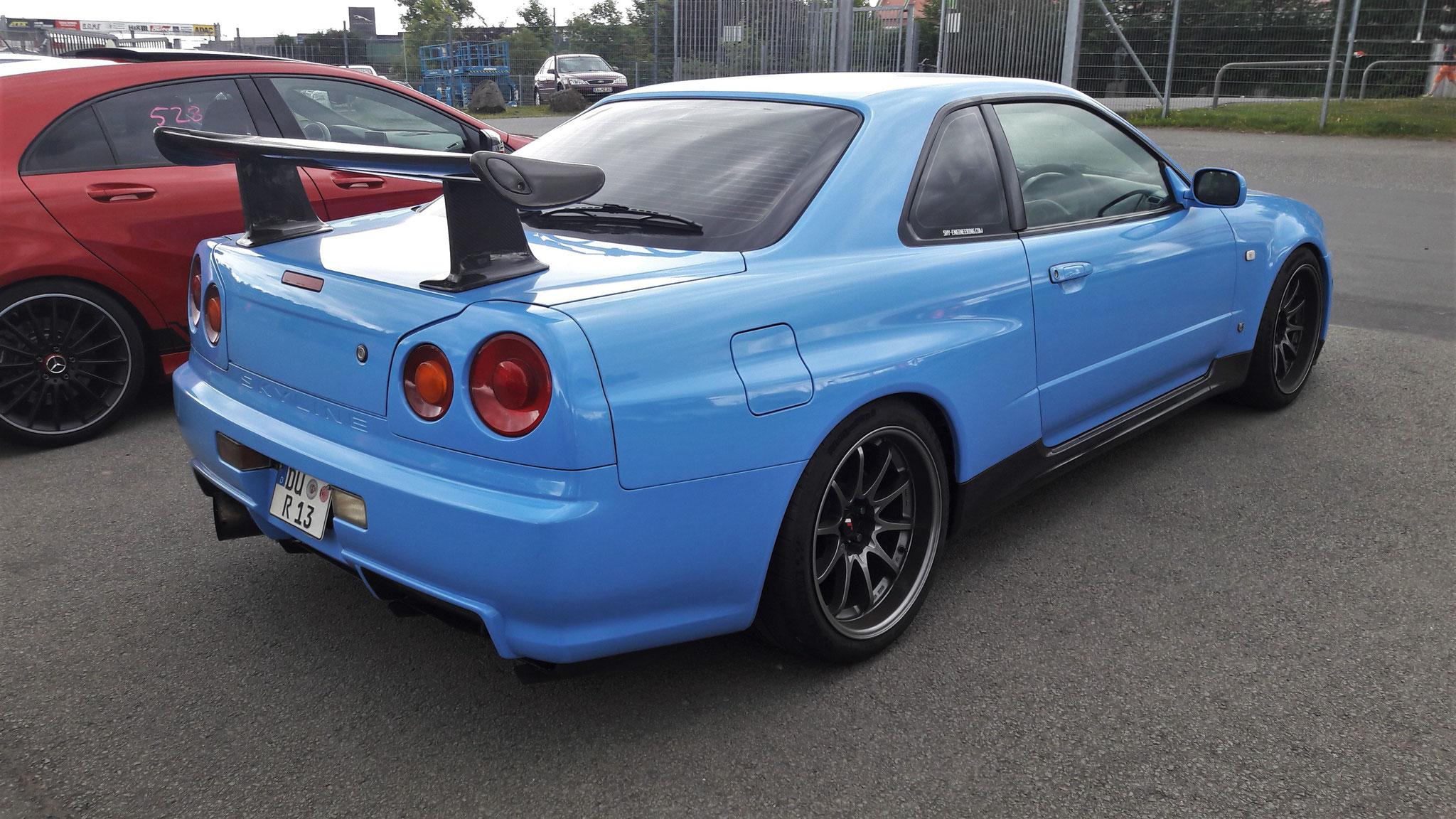 Nissan R34 GT-R - DU-R-13