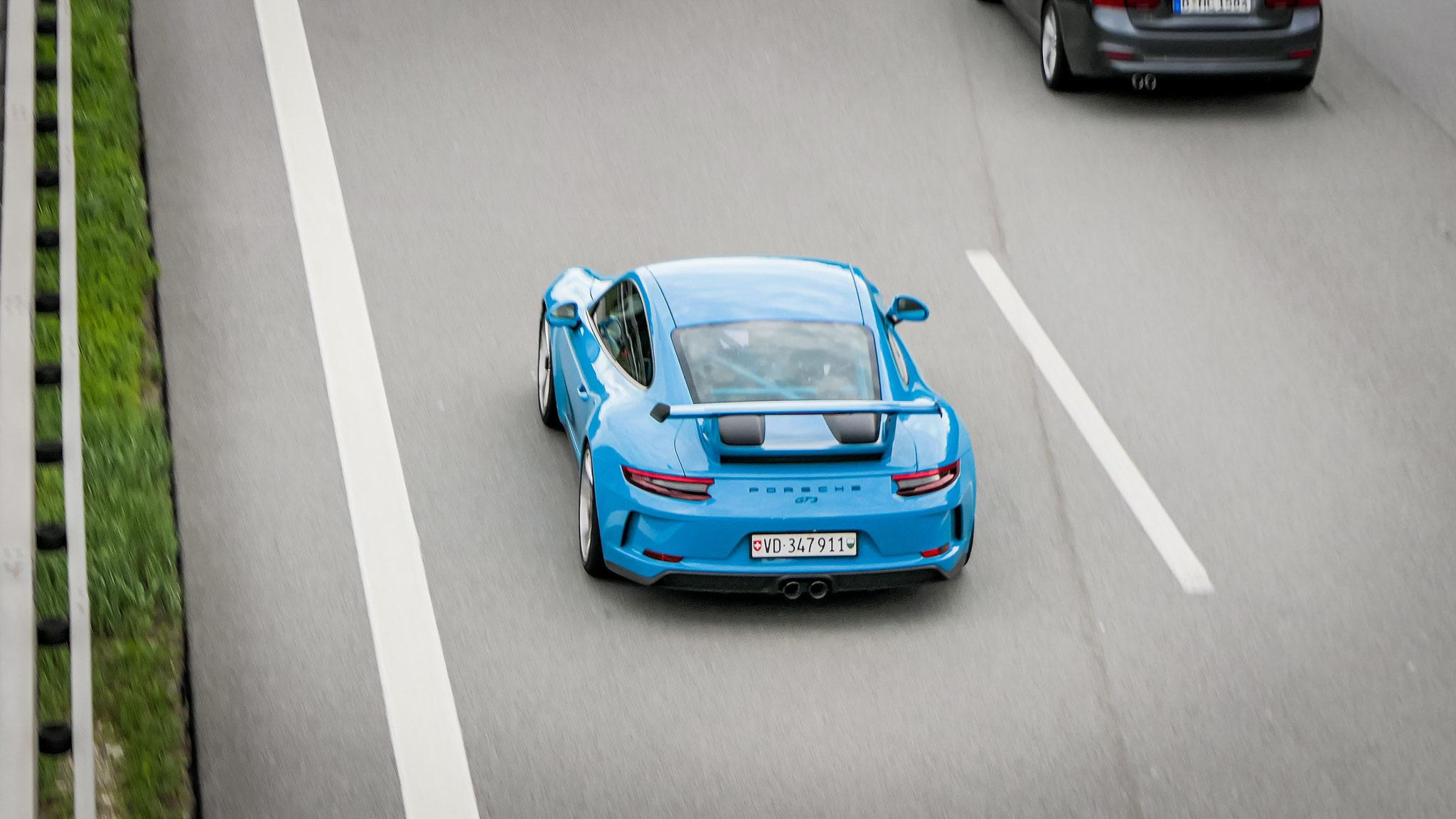 Porsche 991 GT3 - VD-347911 (CH)
