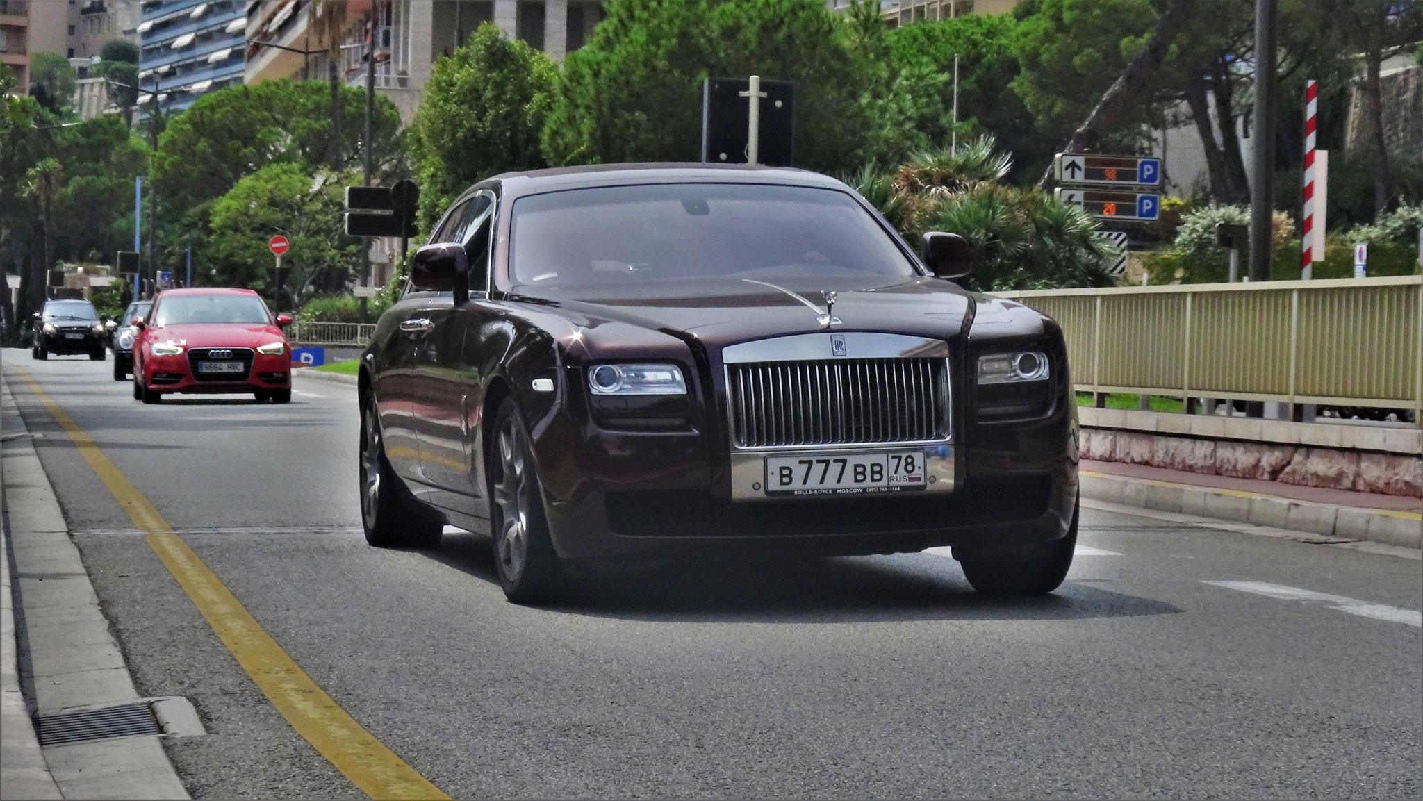 Rolls Royce Ghost - B-777-BB-78 (RUS)