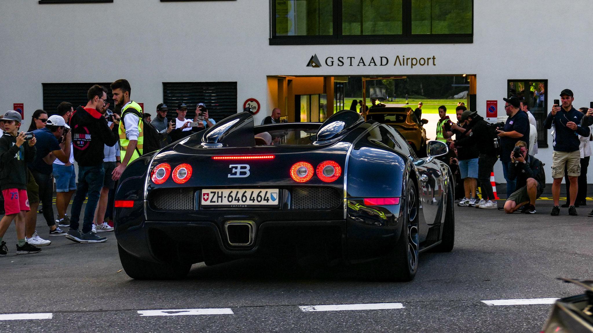 Bugatti Veyron Grand Sport - ZH-646464 (CH)