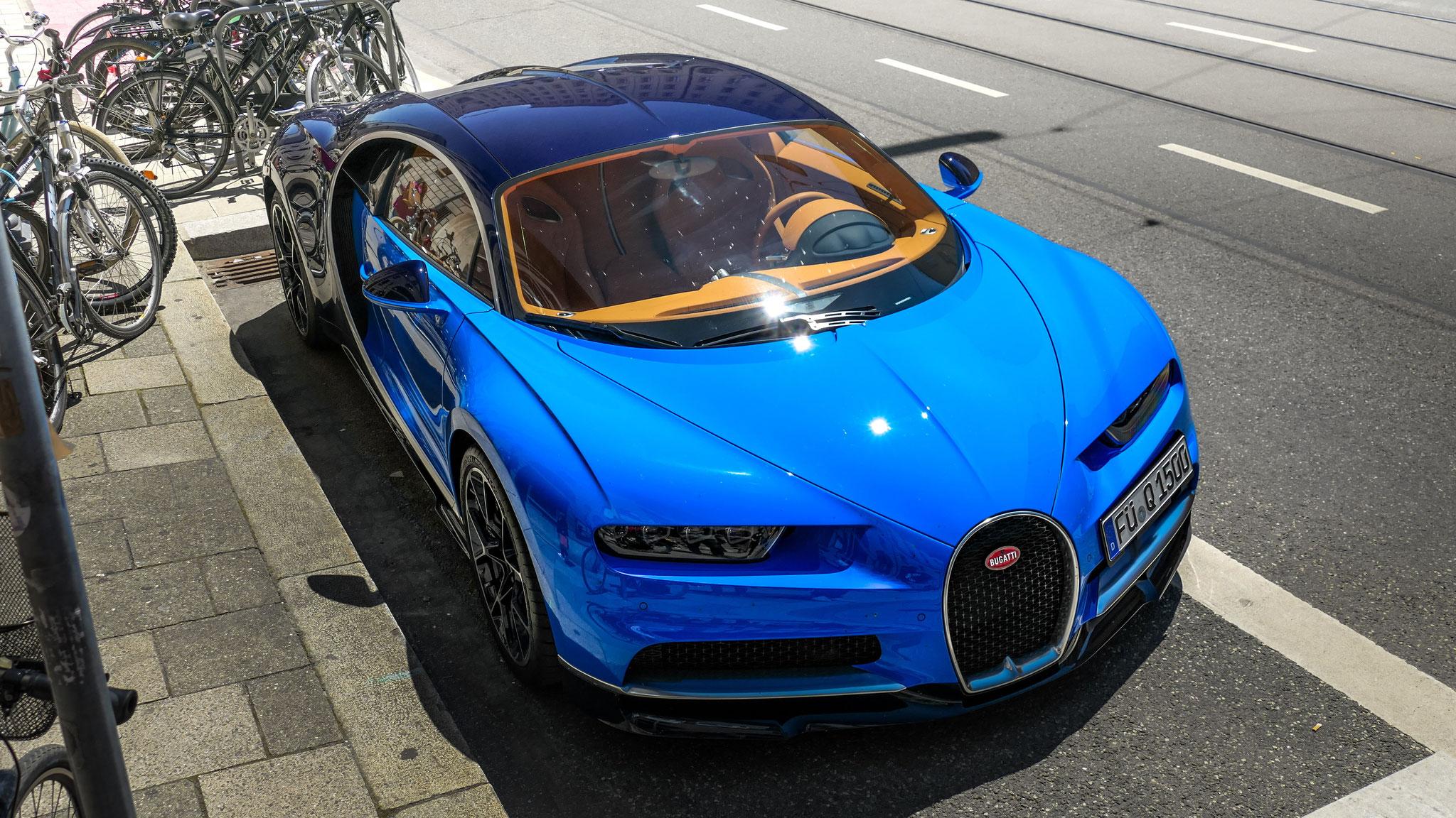 Bugatti Chiron - FÜ-Q-1500